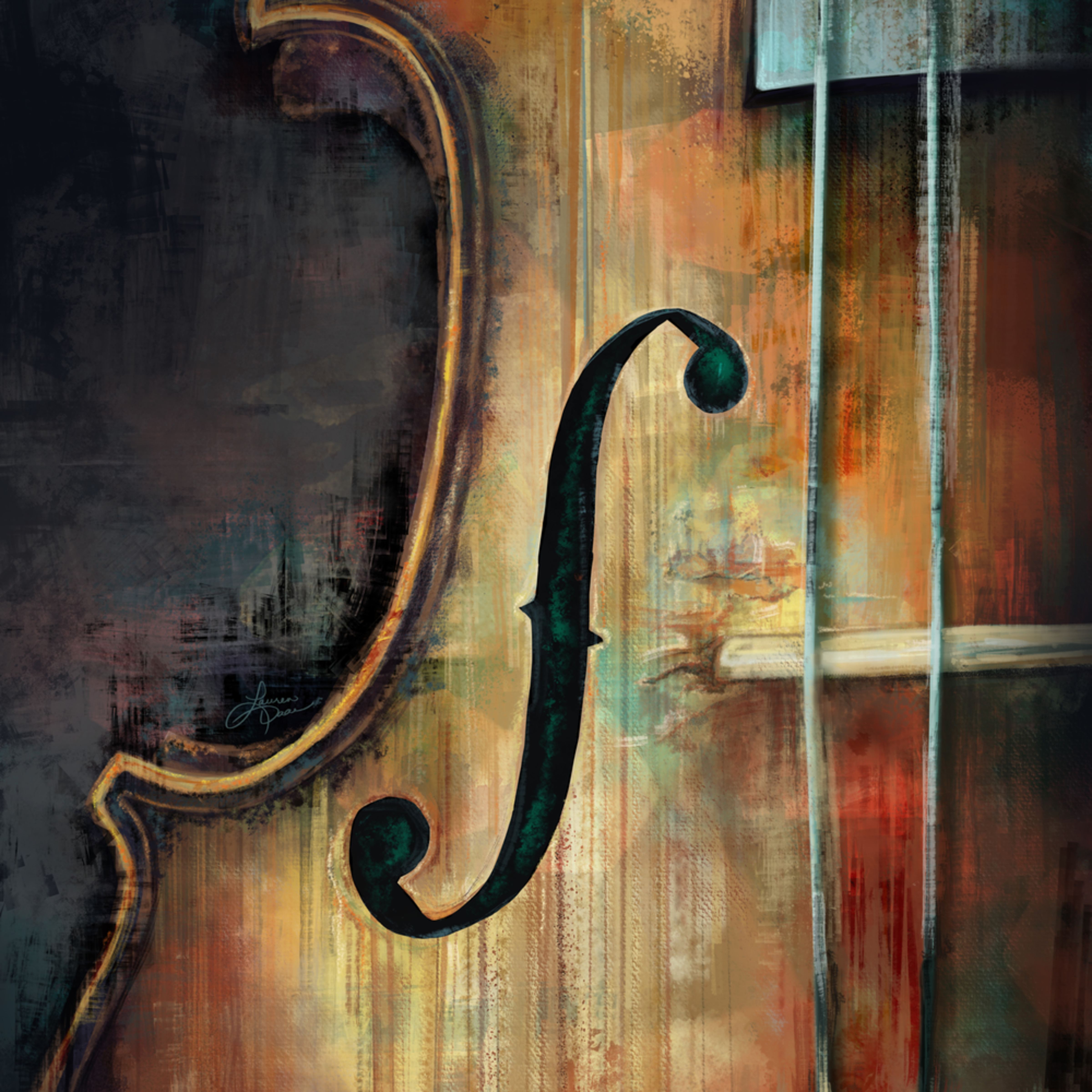 Violin cozf4m