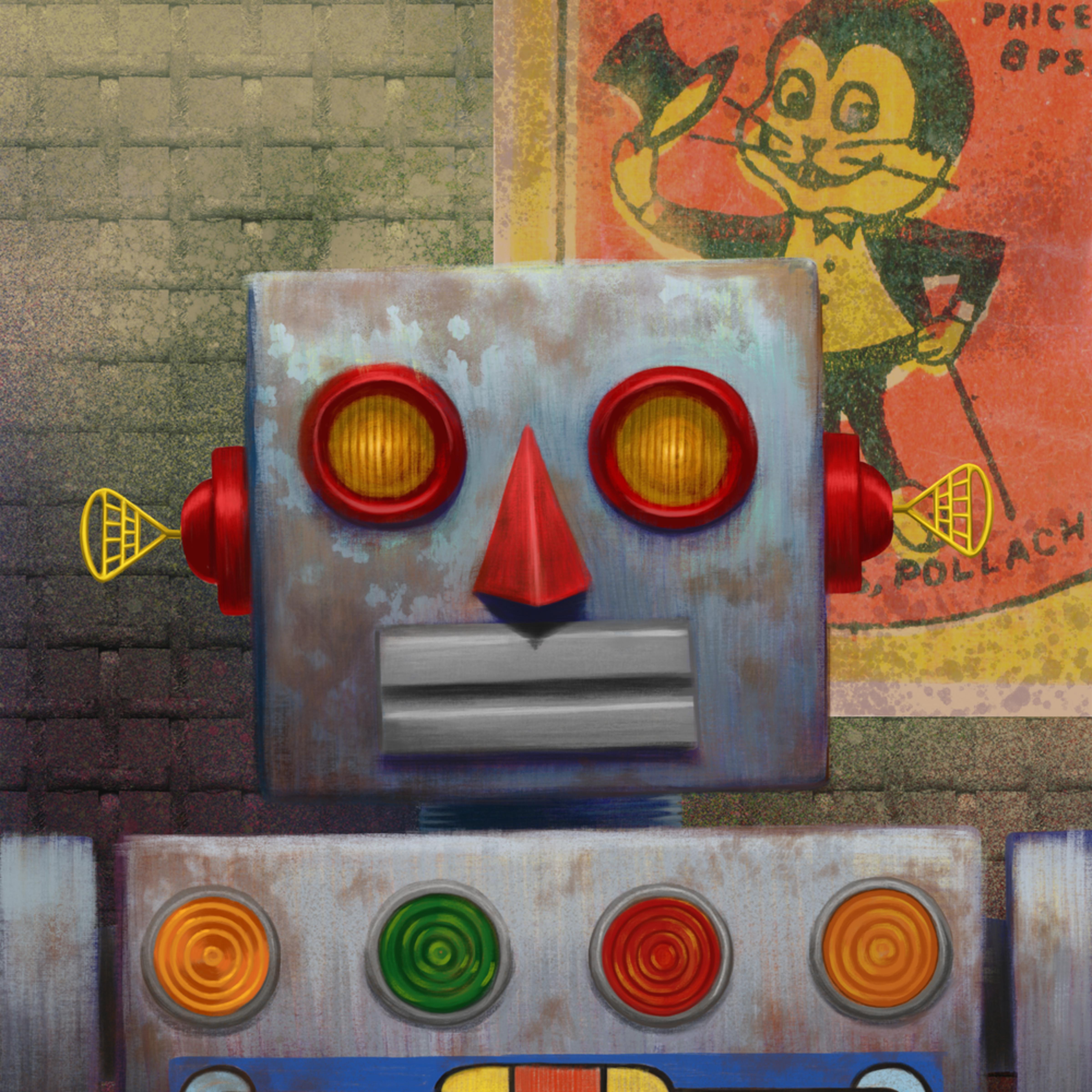 Rusty robot n rabbit16x20 300dpi vbwtwo
