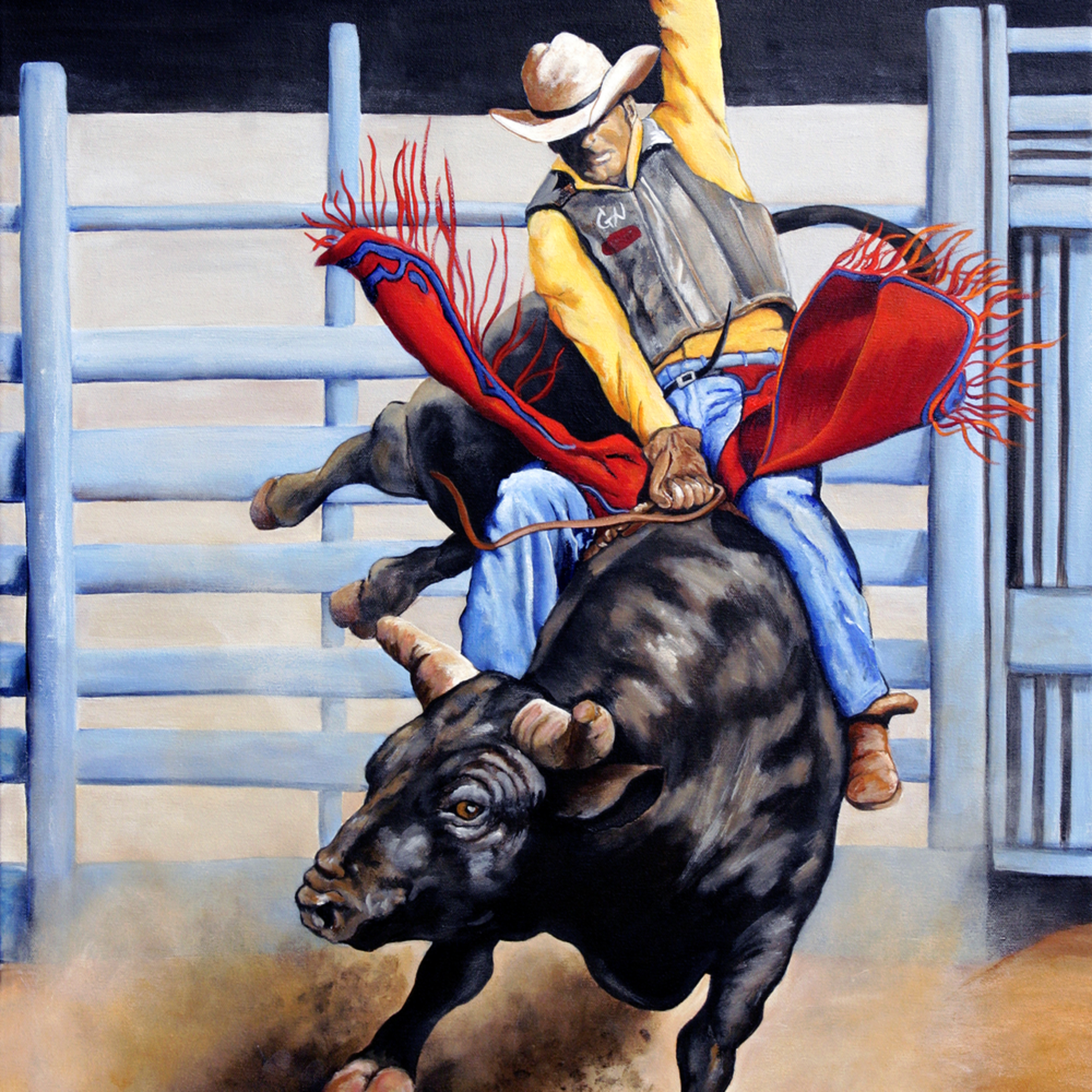 Bull rider e1seai