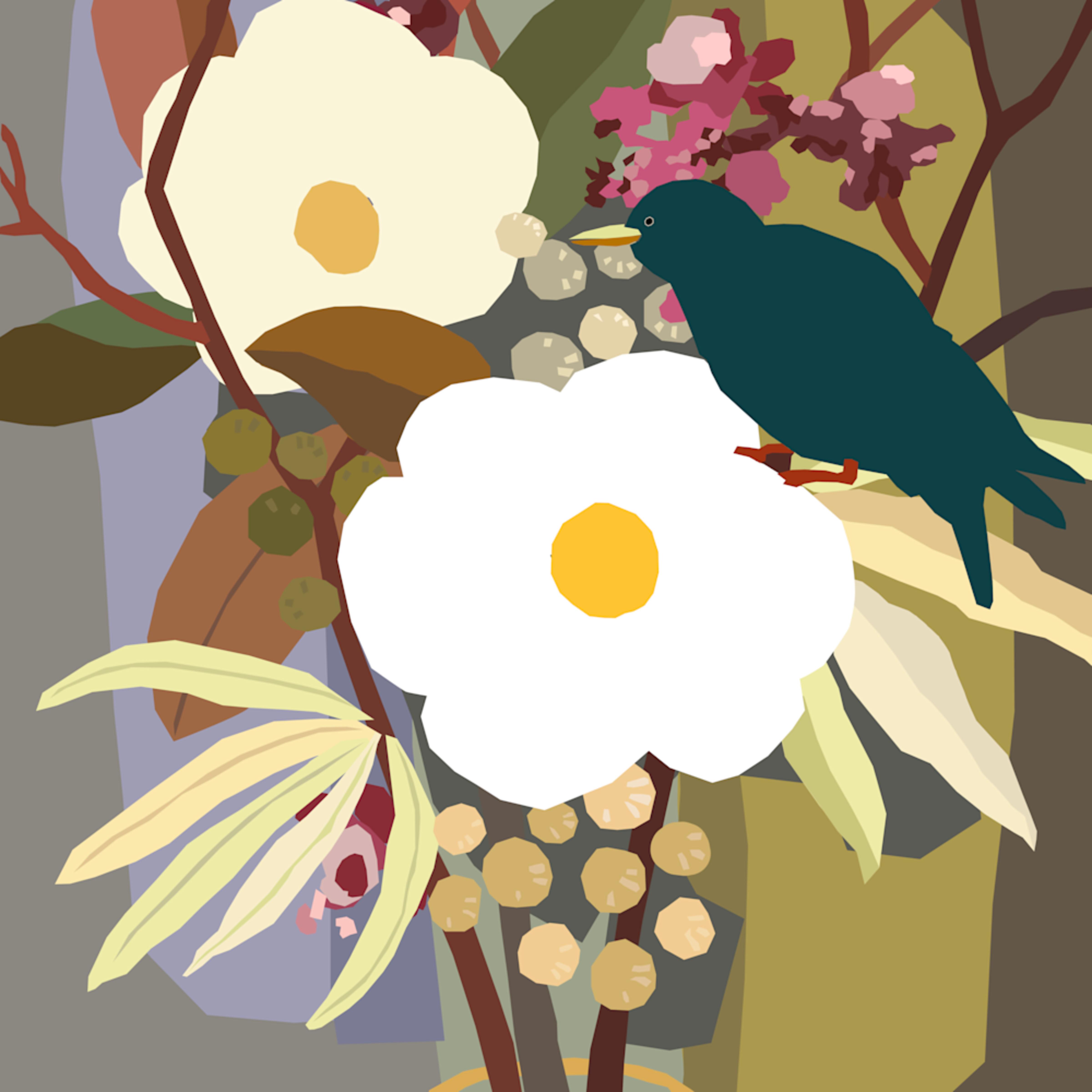 Magnolia bouquet andrew daniel aok8uz