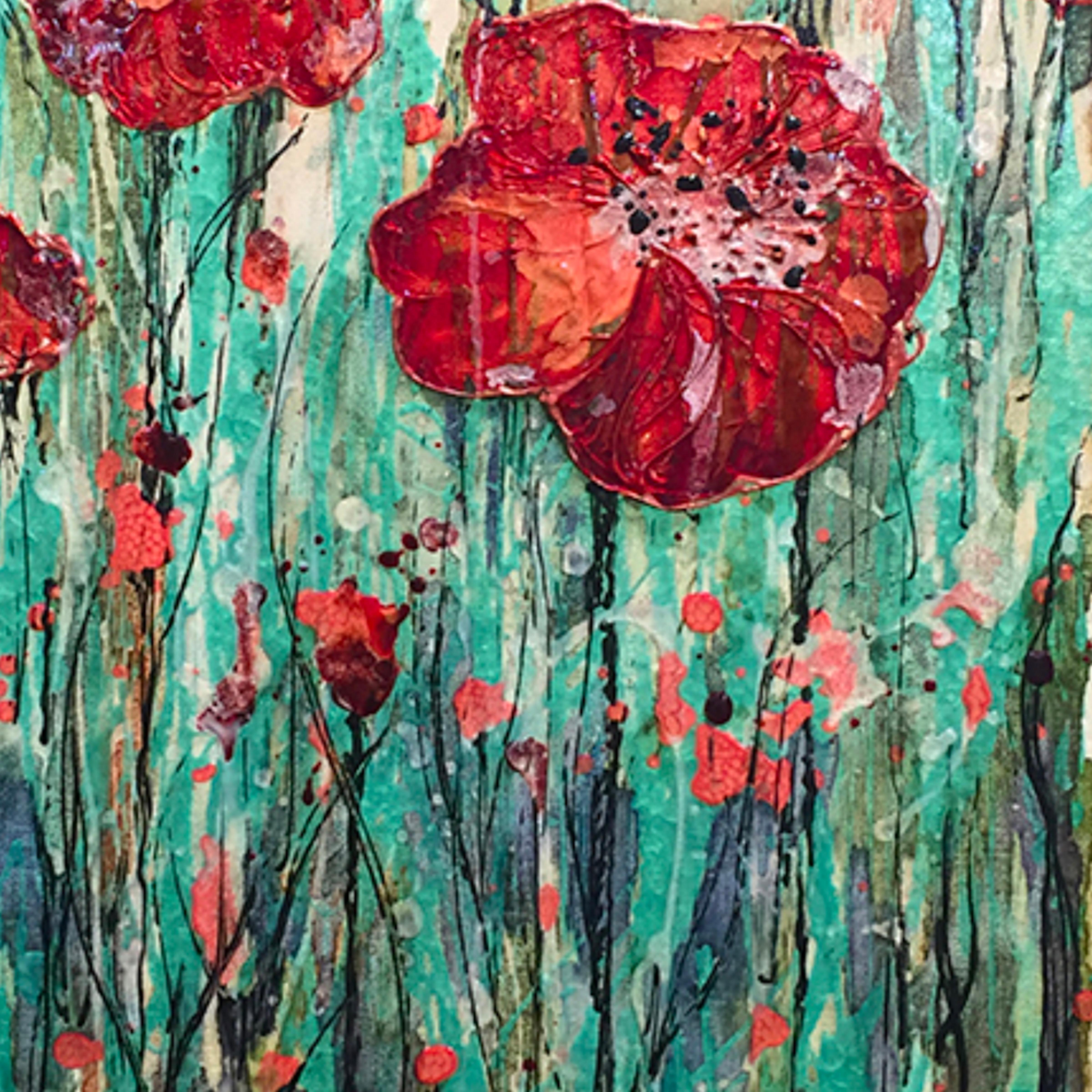 Poppy flower vertical sejcvq