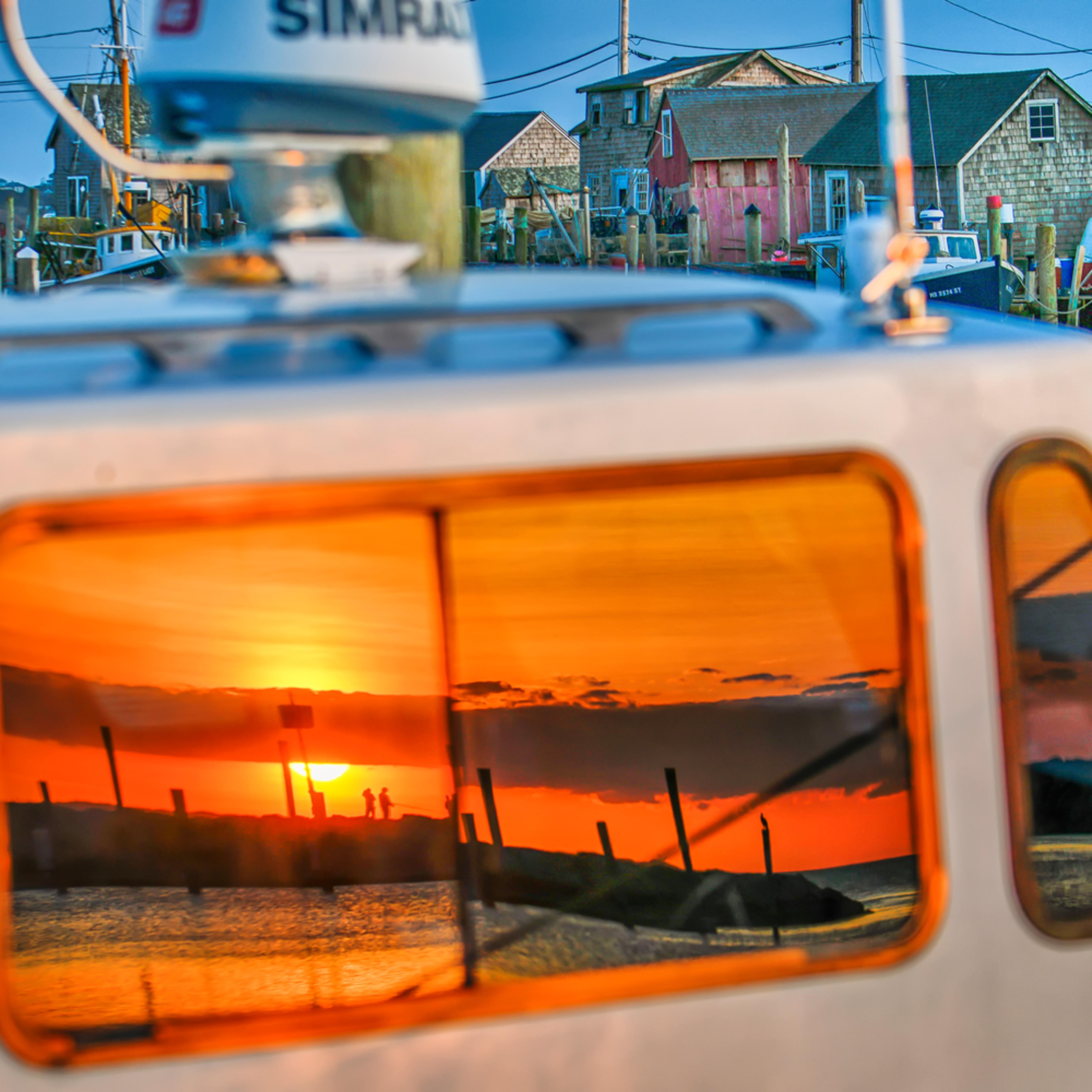Menemsha boat reflection 1 hggqzf