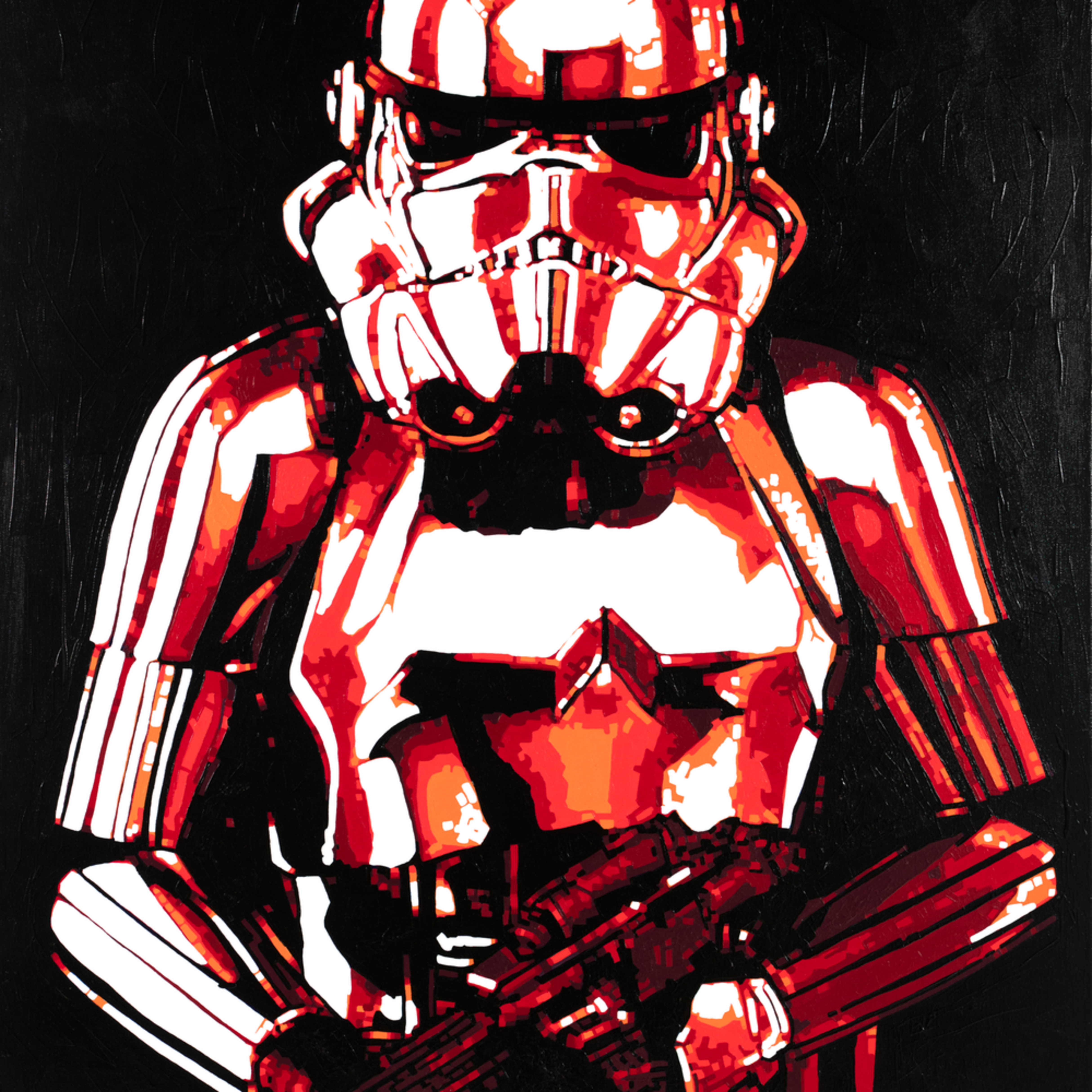 The trooper 36x48 toddmonk rotvpa