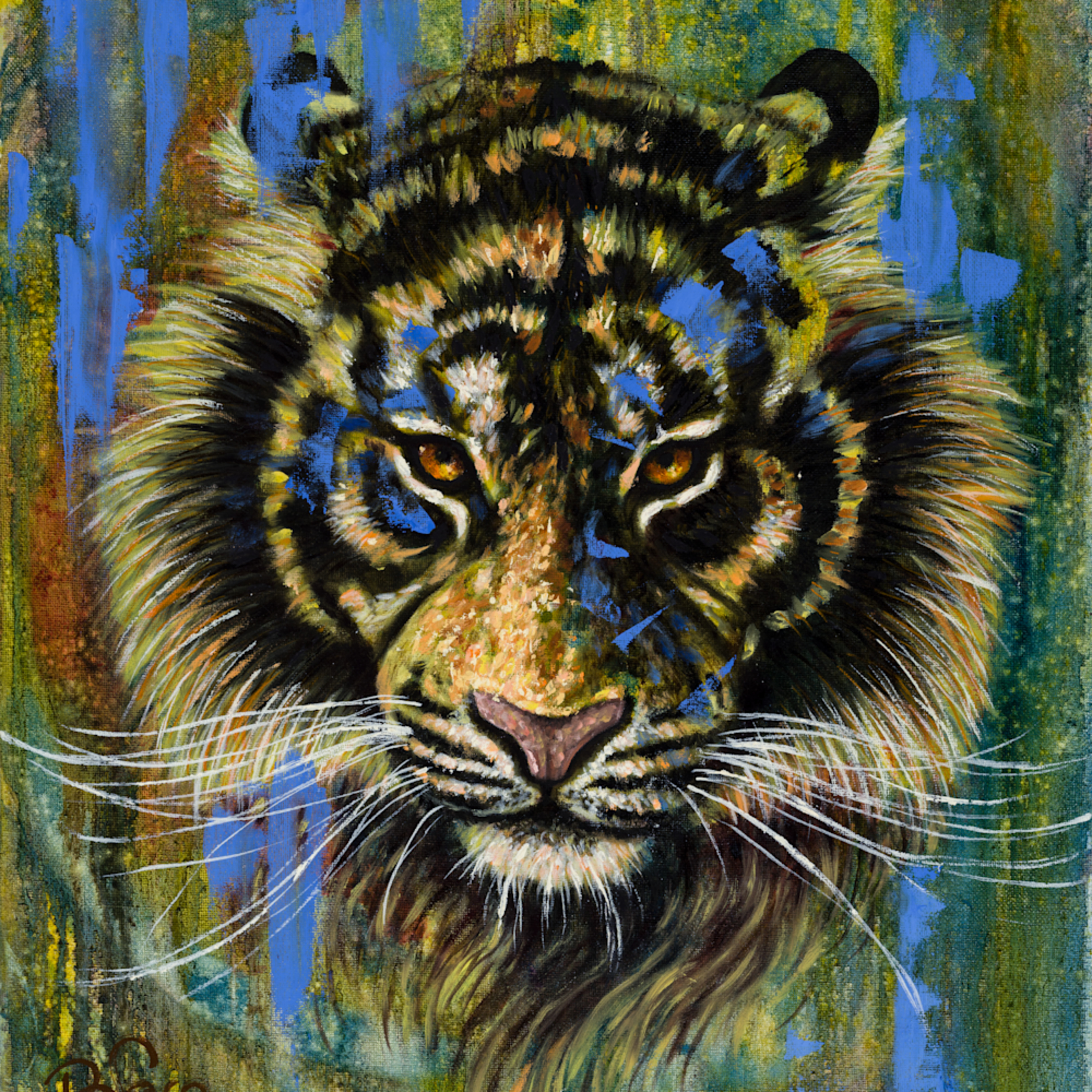 The tiger in you print dyme6r