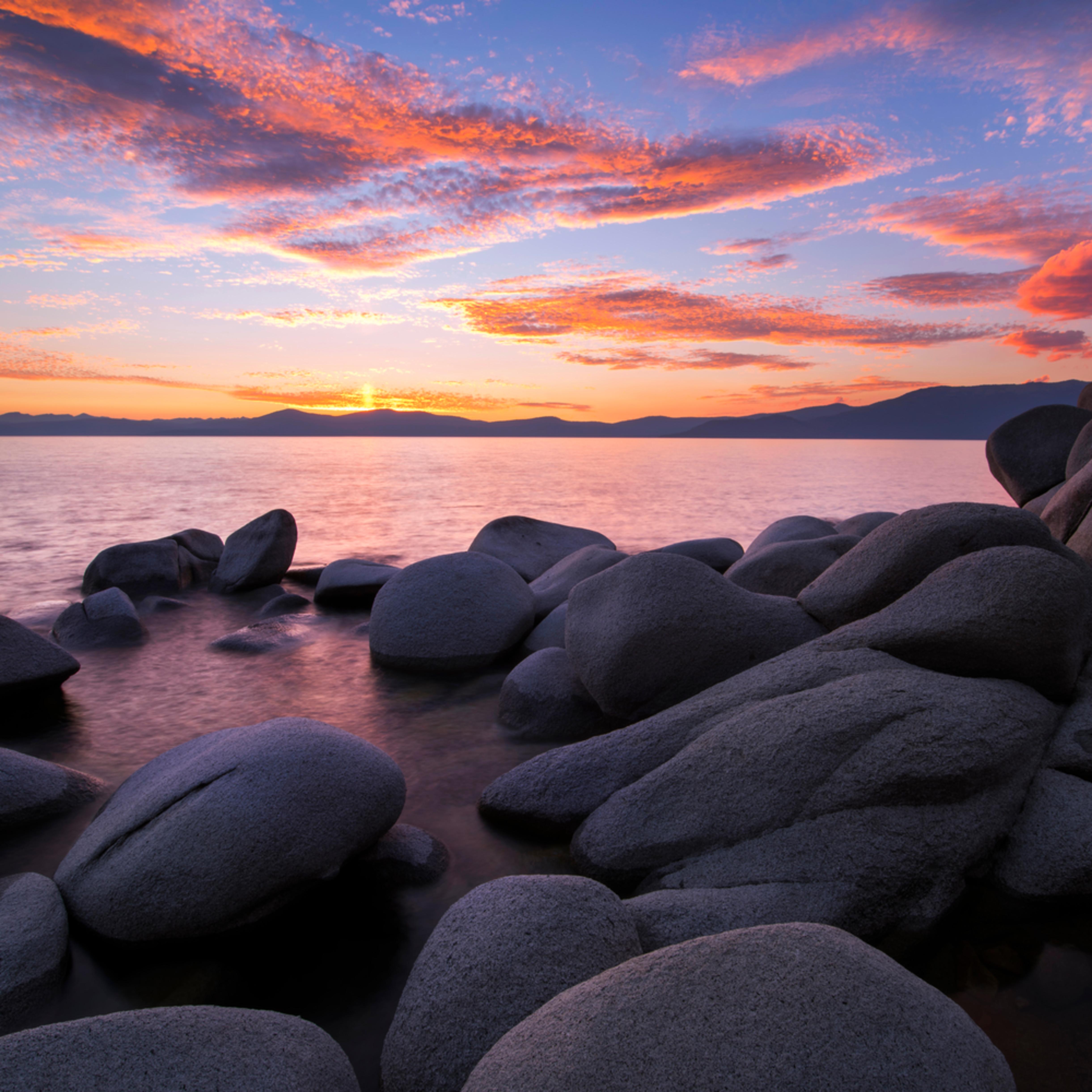 East shore sunset nibgud