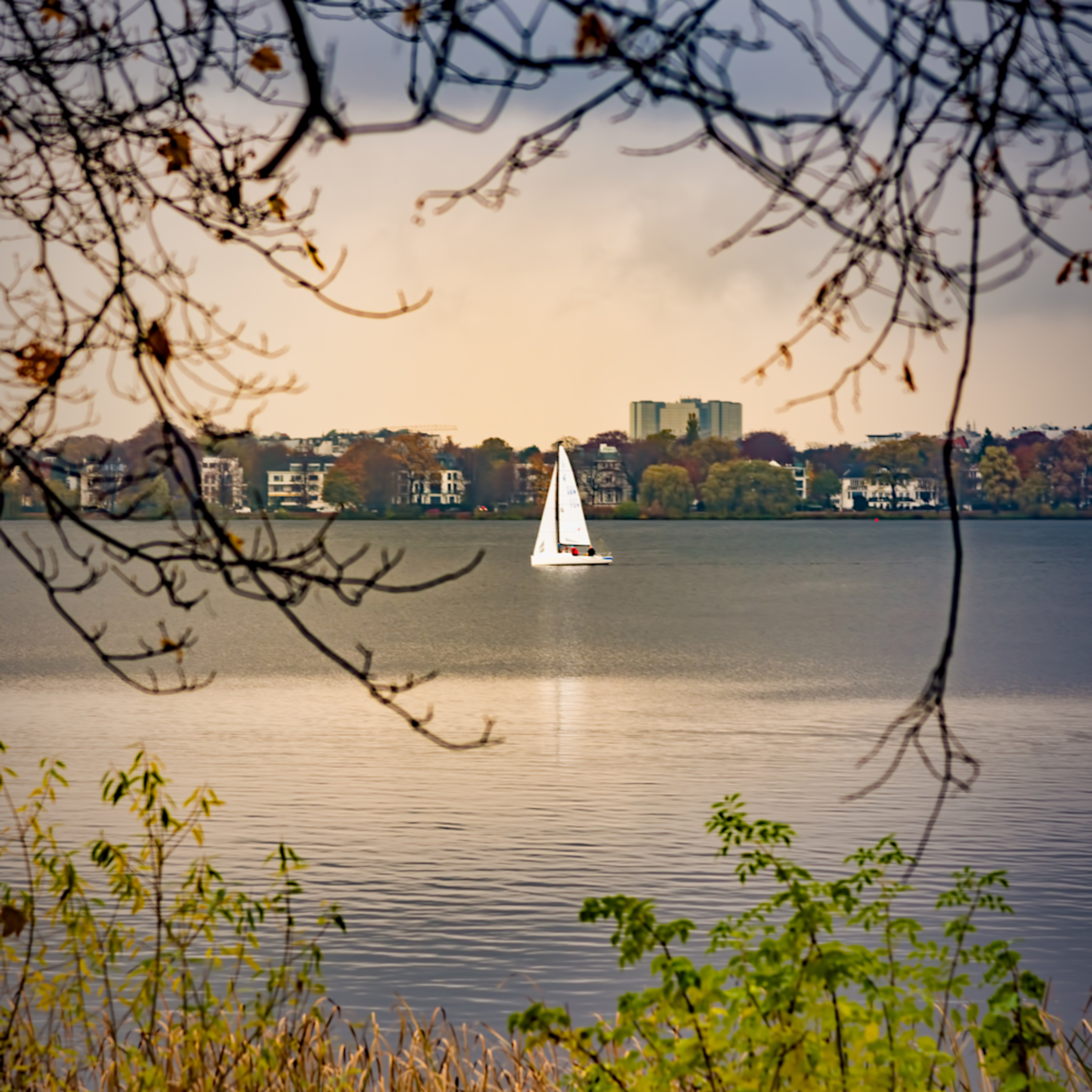 Sailing after the rain in hamberg tsw5mp
