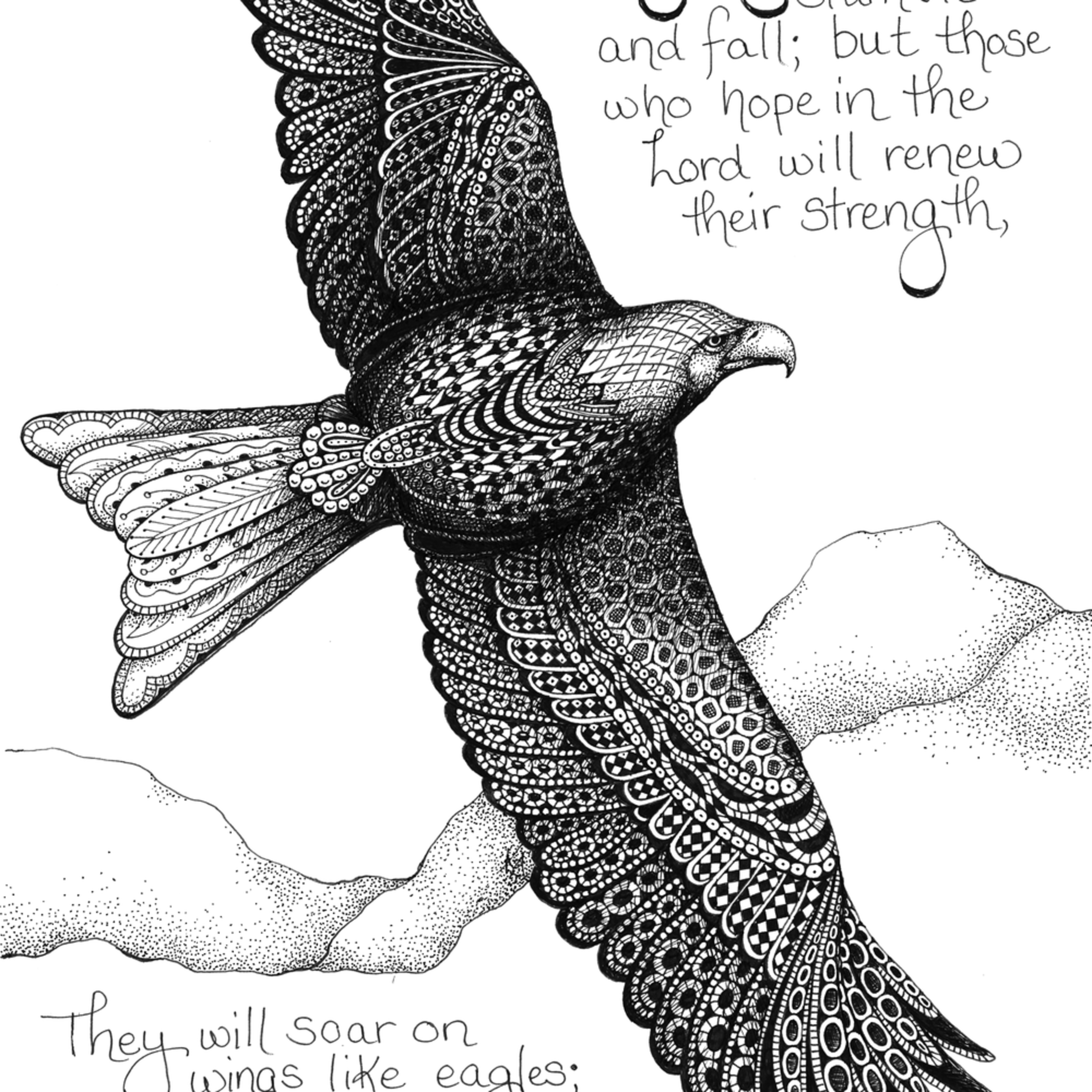 Eagle  isaiah 40 bwiyvp