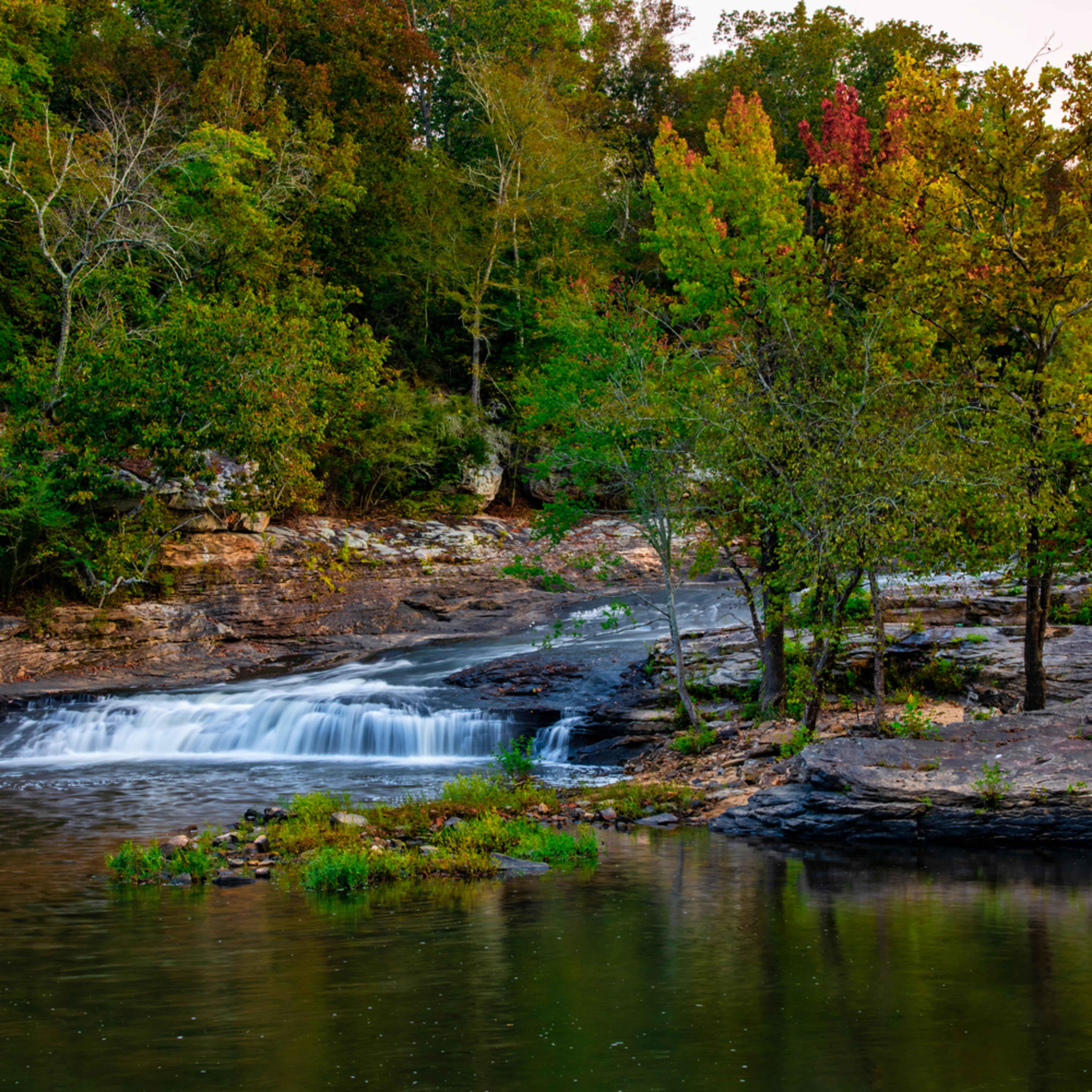 Andy crawford photography town creek waterfall ibew1t