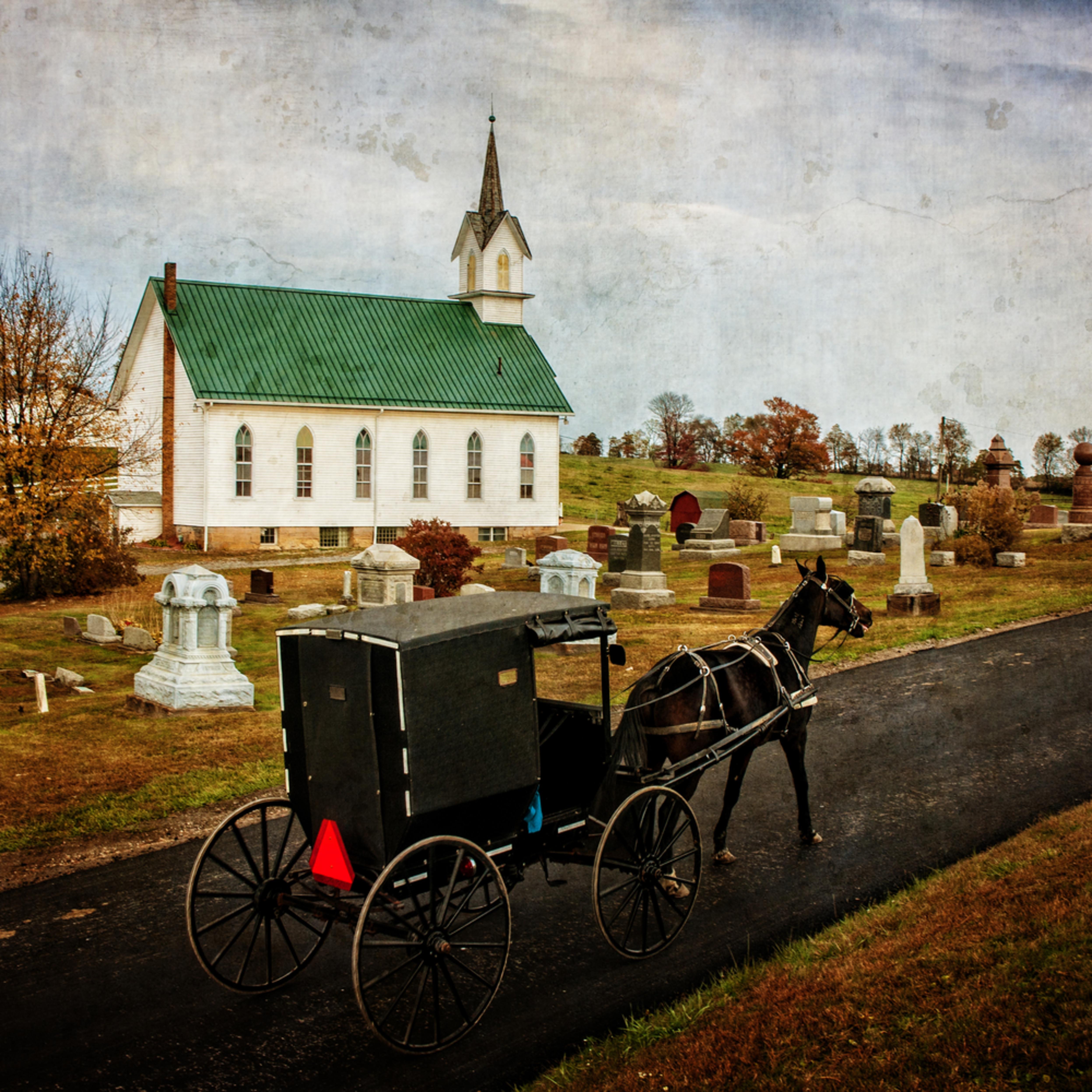 Amish church eler4k