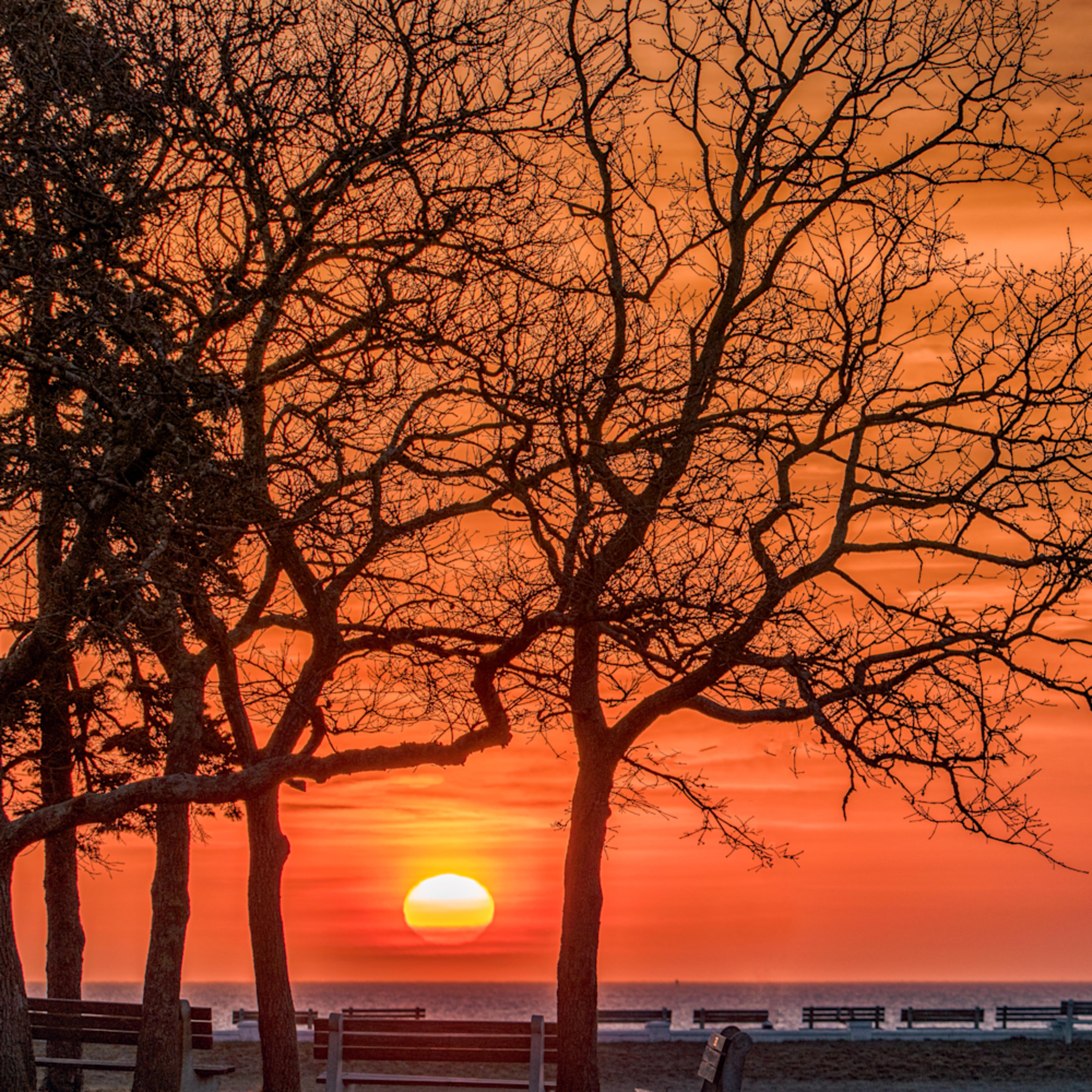 Waban park spring sunrise 2 mc3smn