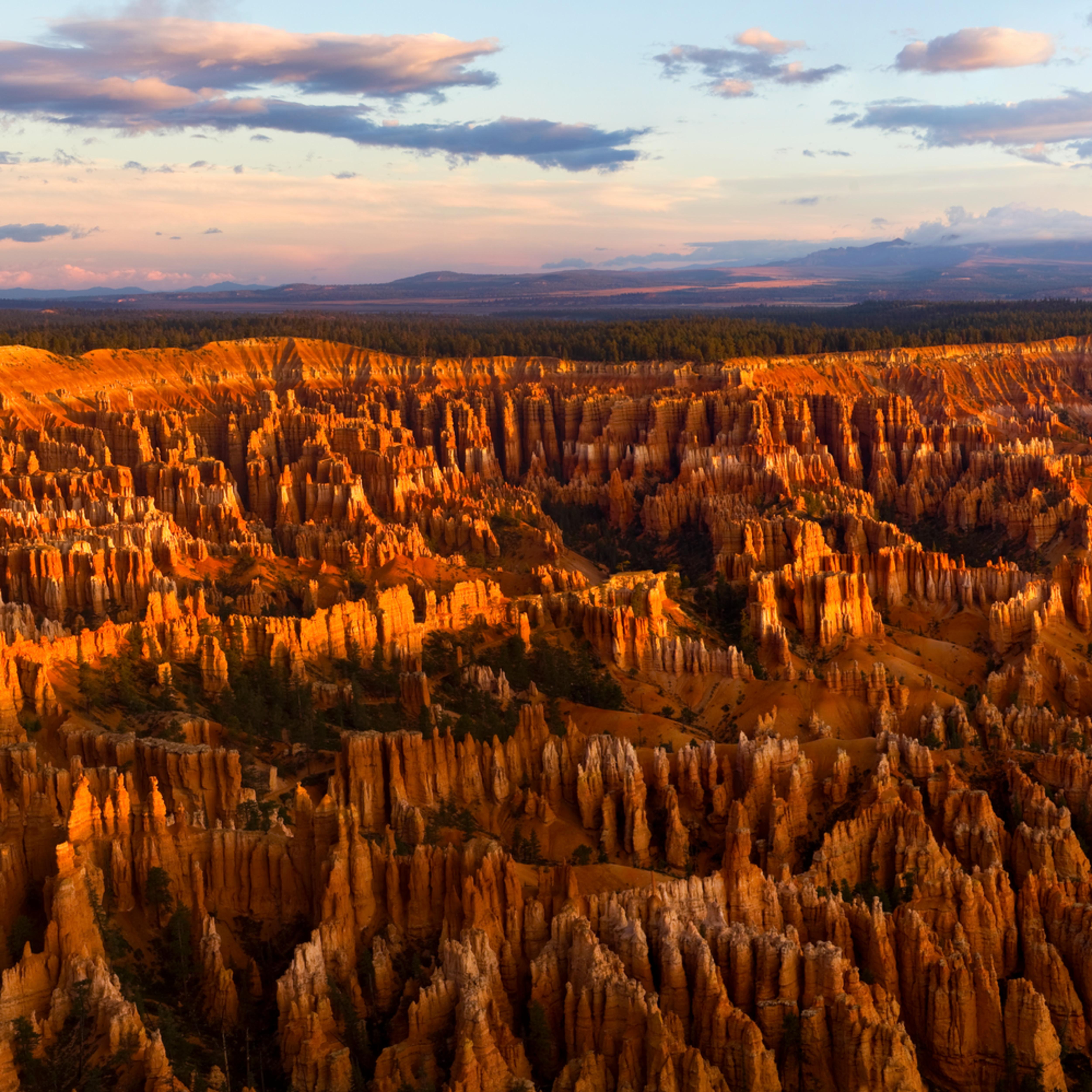 Bryce canyon sunrise tq8xfk