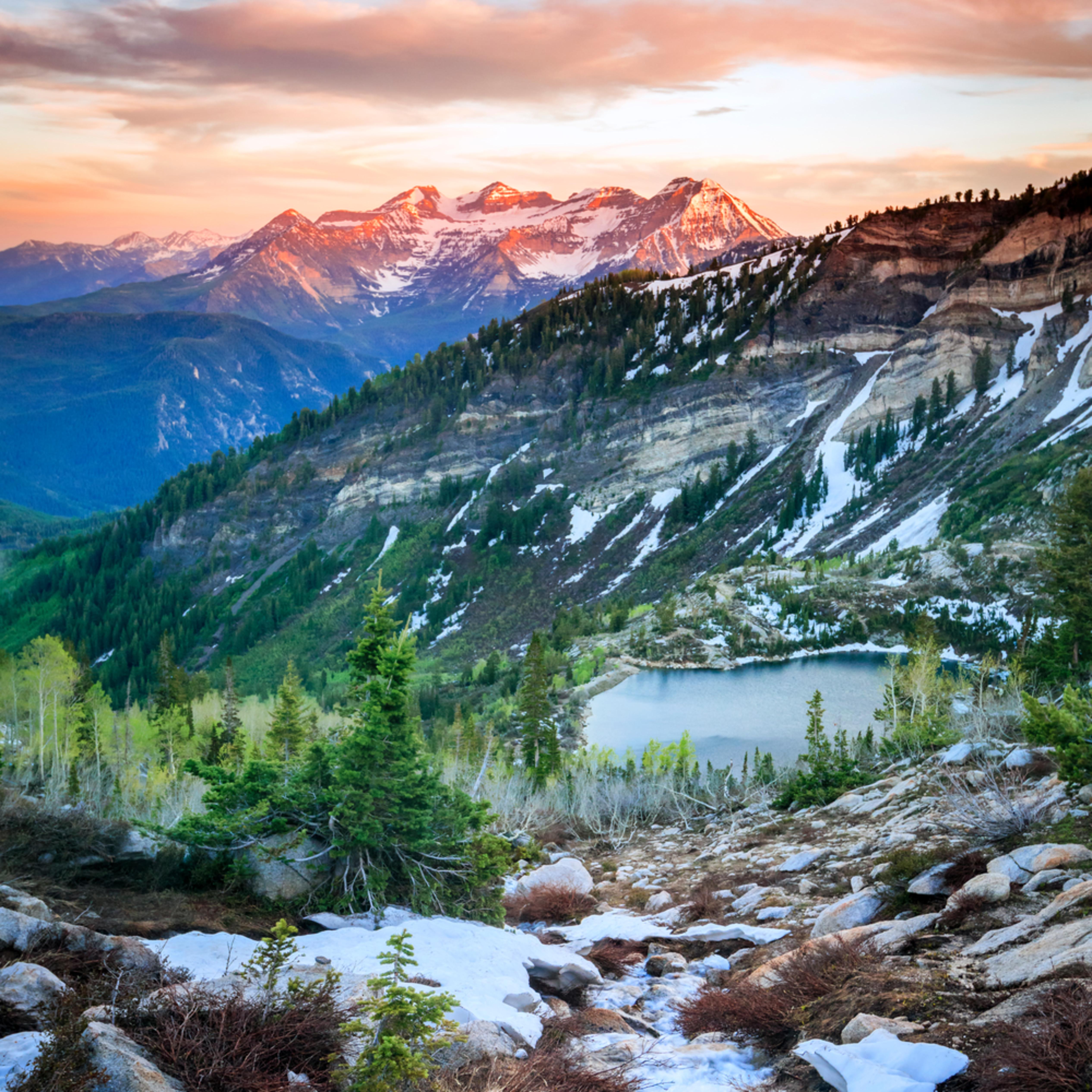 Silver lake snowy stream asf fhf0mn