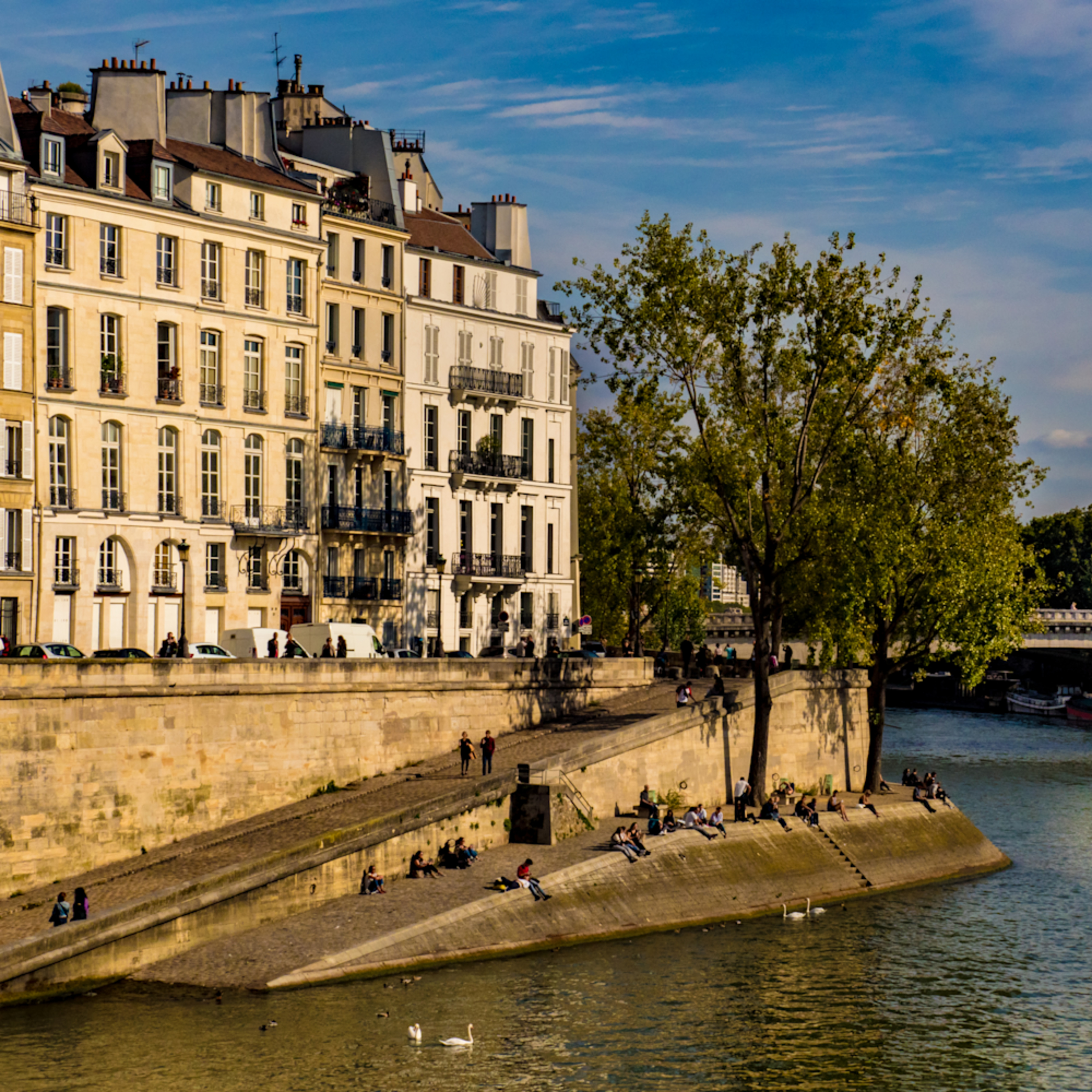 Morning on the seine paris 9 17 540 hdiiec