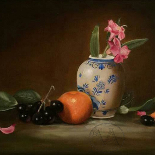 Fruits and flowers still life m81nra