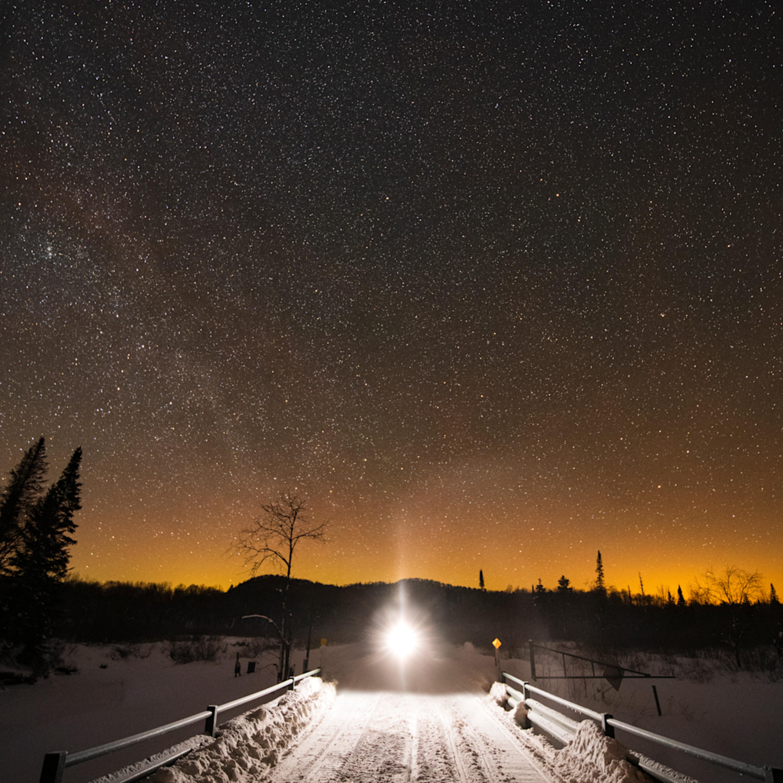 Snowmobile trail  vert gnkgzr