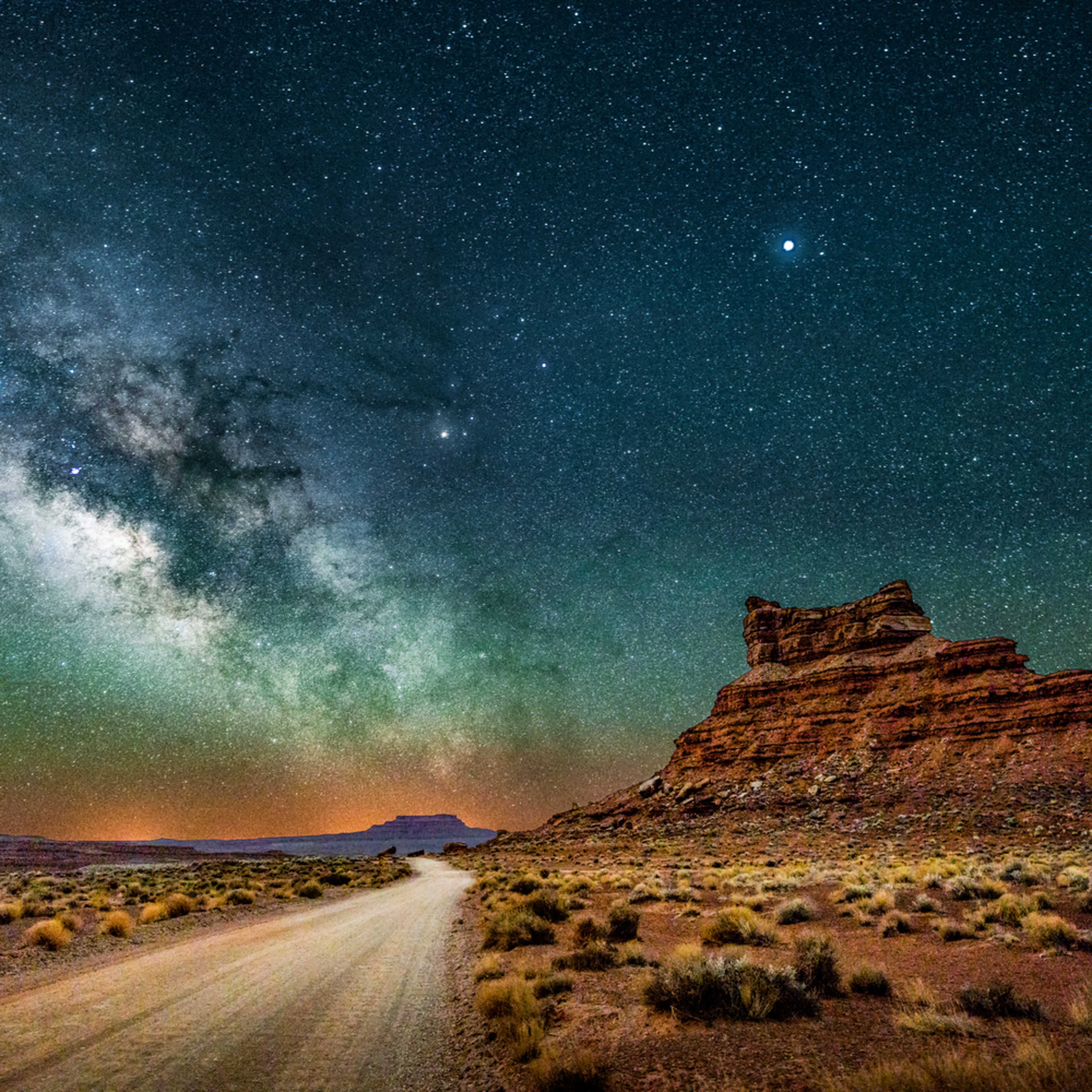 Valley of the gods nightscape 053 highway to the heavens dp3jni