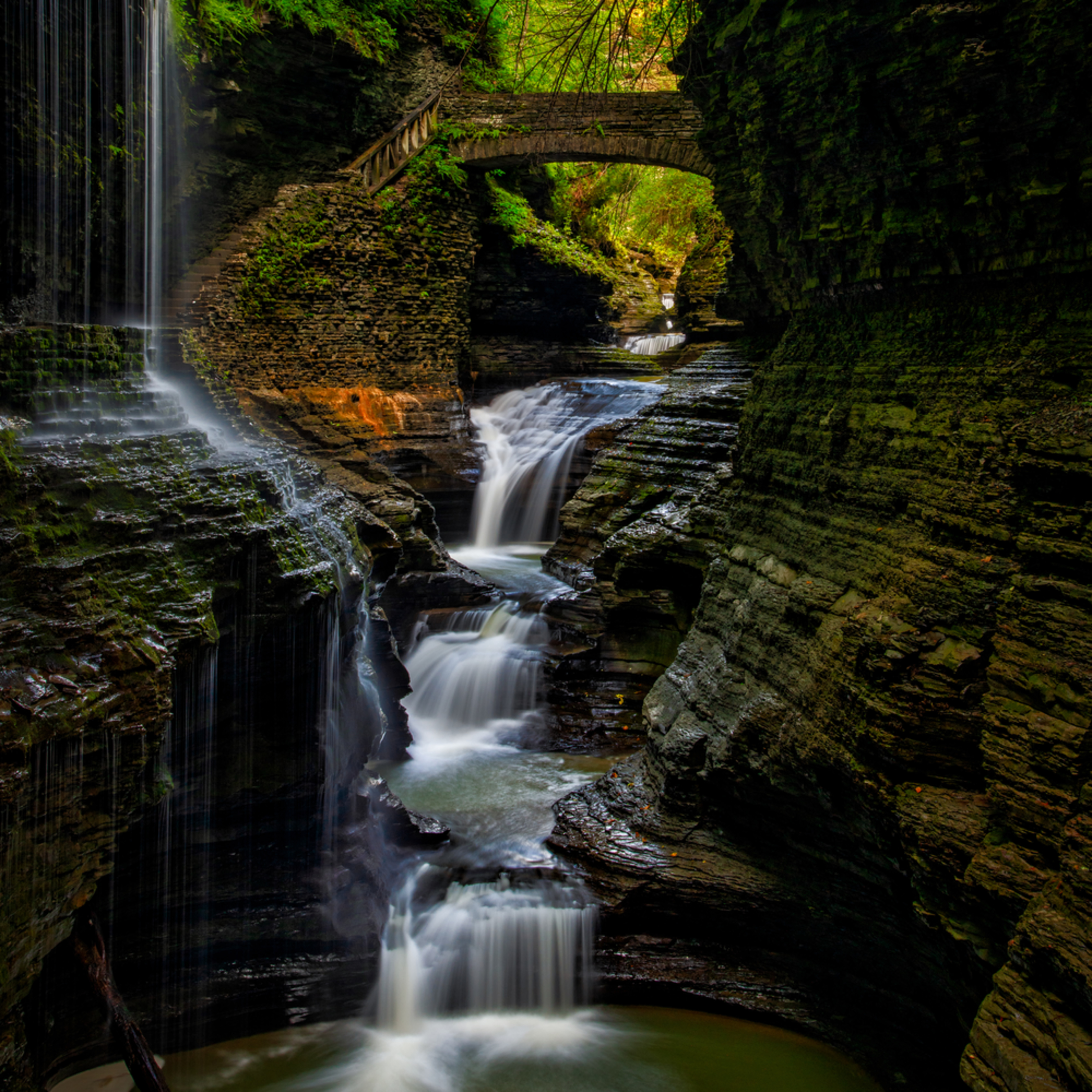 Andy crawford photography watkins glen state park rainbow falls 001 wcqlqy