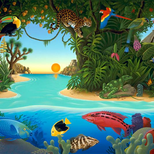Aztec paradise v5v3ea