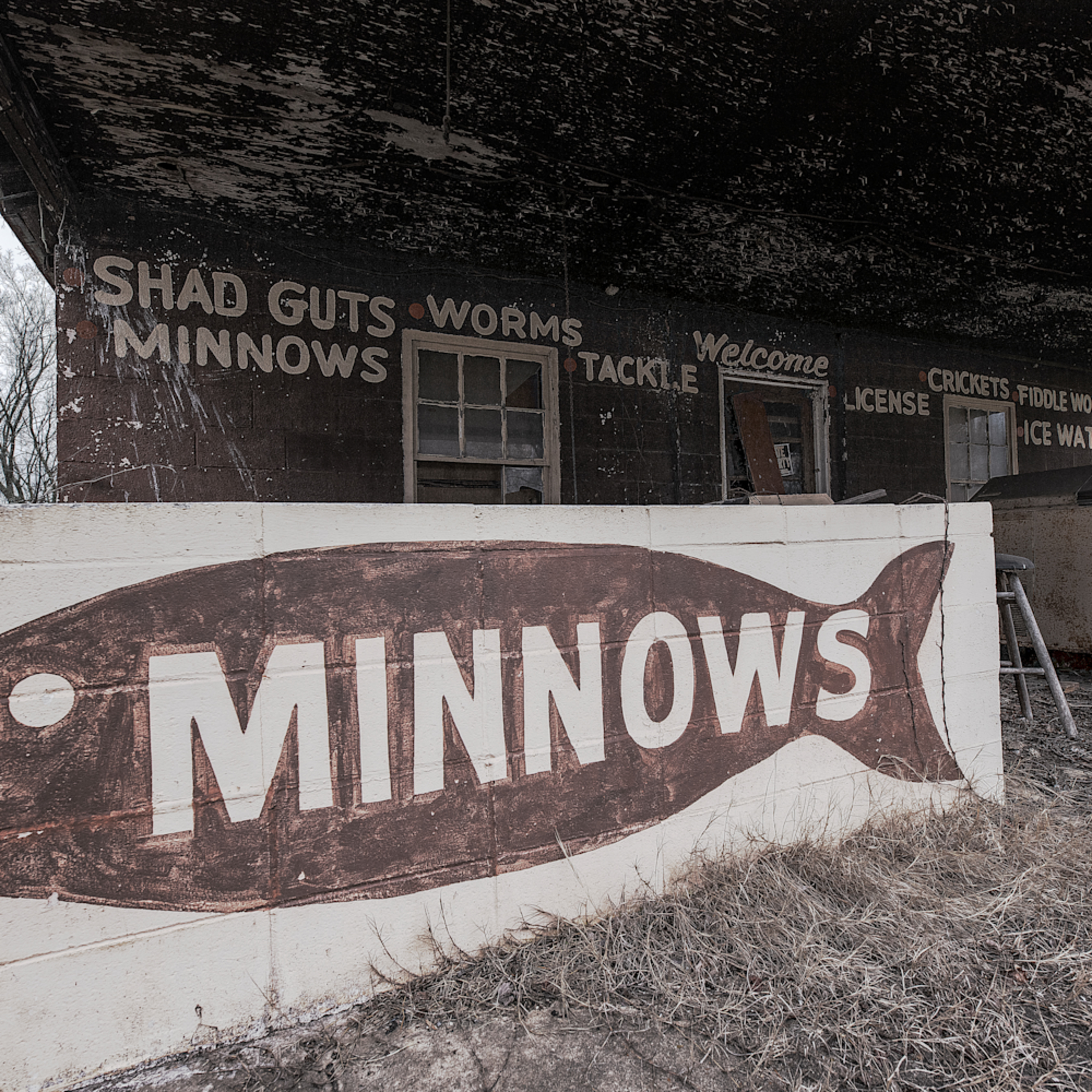 Andy crawford photography vintage bait shop r9tpde