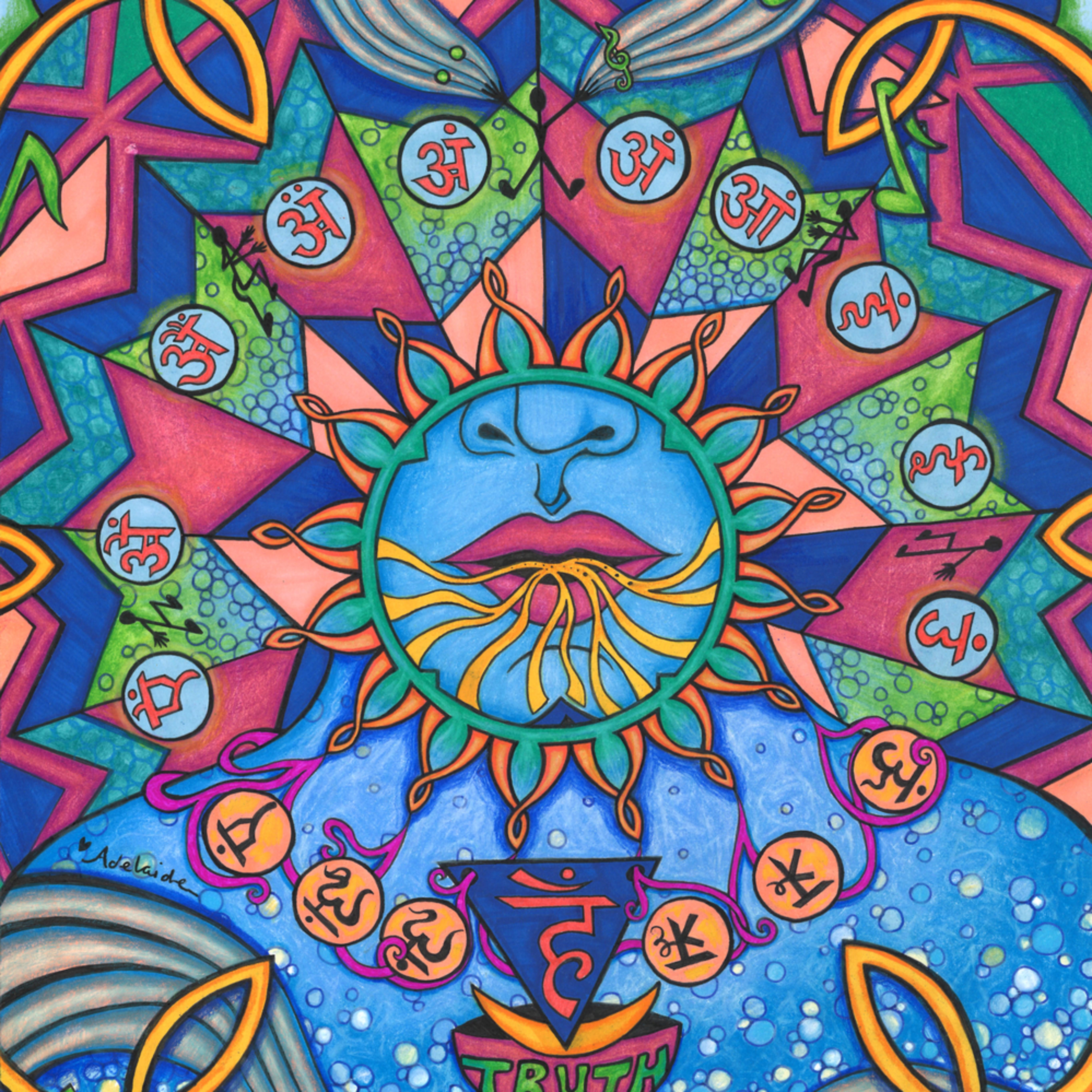 Throat chakra with color ujuwjz