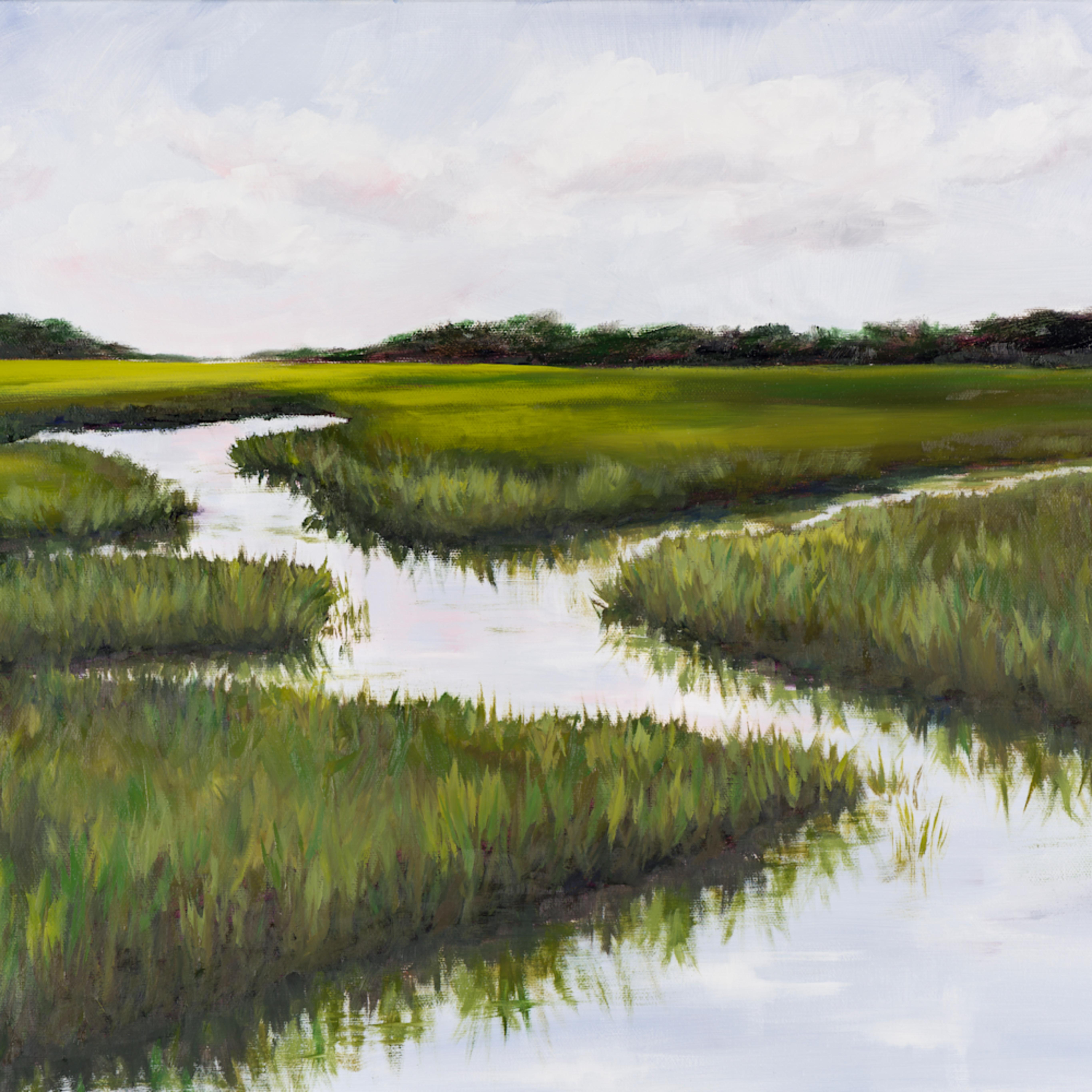 Large green blue marsh missy svsam2
