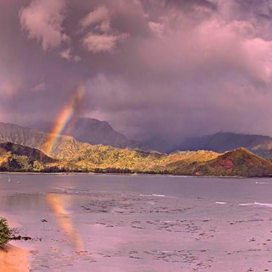 Hanalei bay rainbow 2015 uuugll