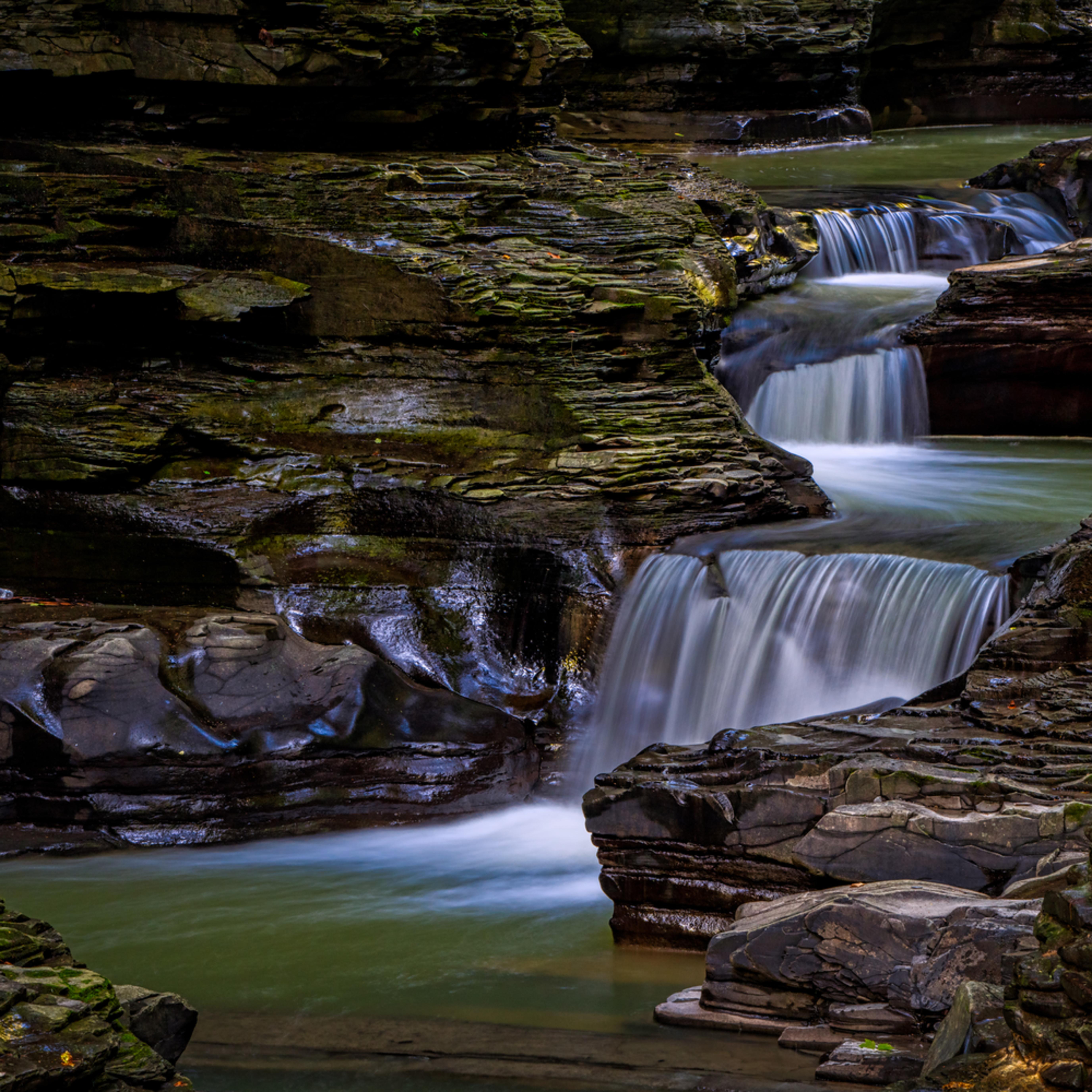 Andy crawford photography watkins glen state park small waterfalls 001 qs33jl