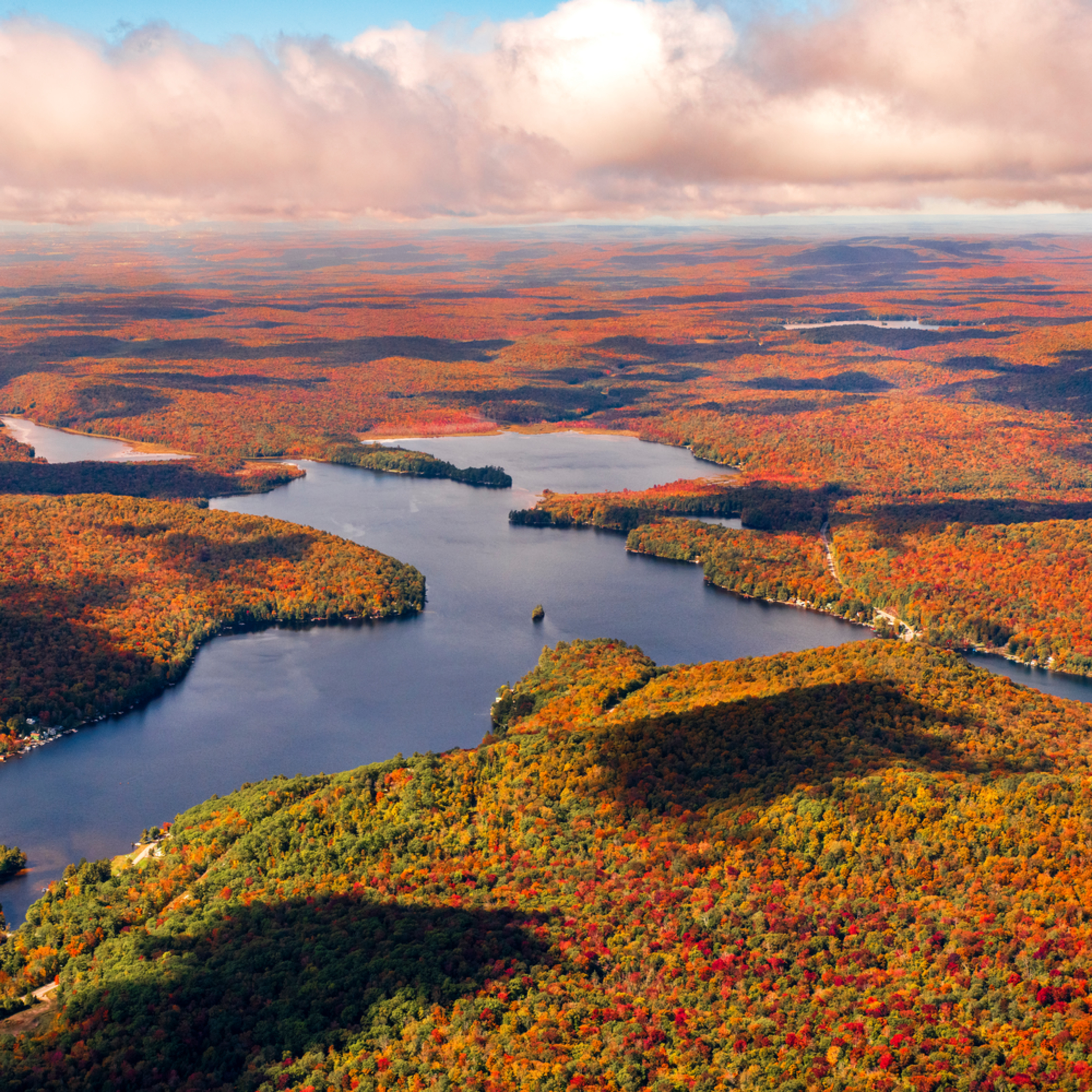 Canada lake west lake fovleg