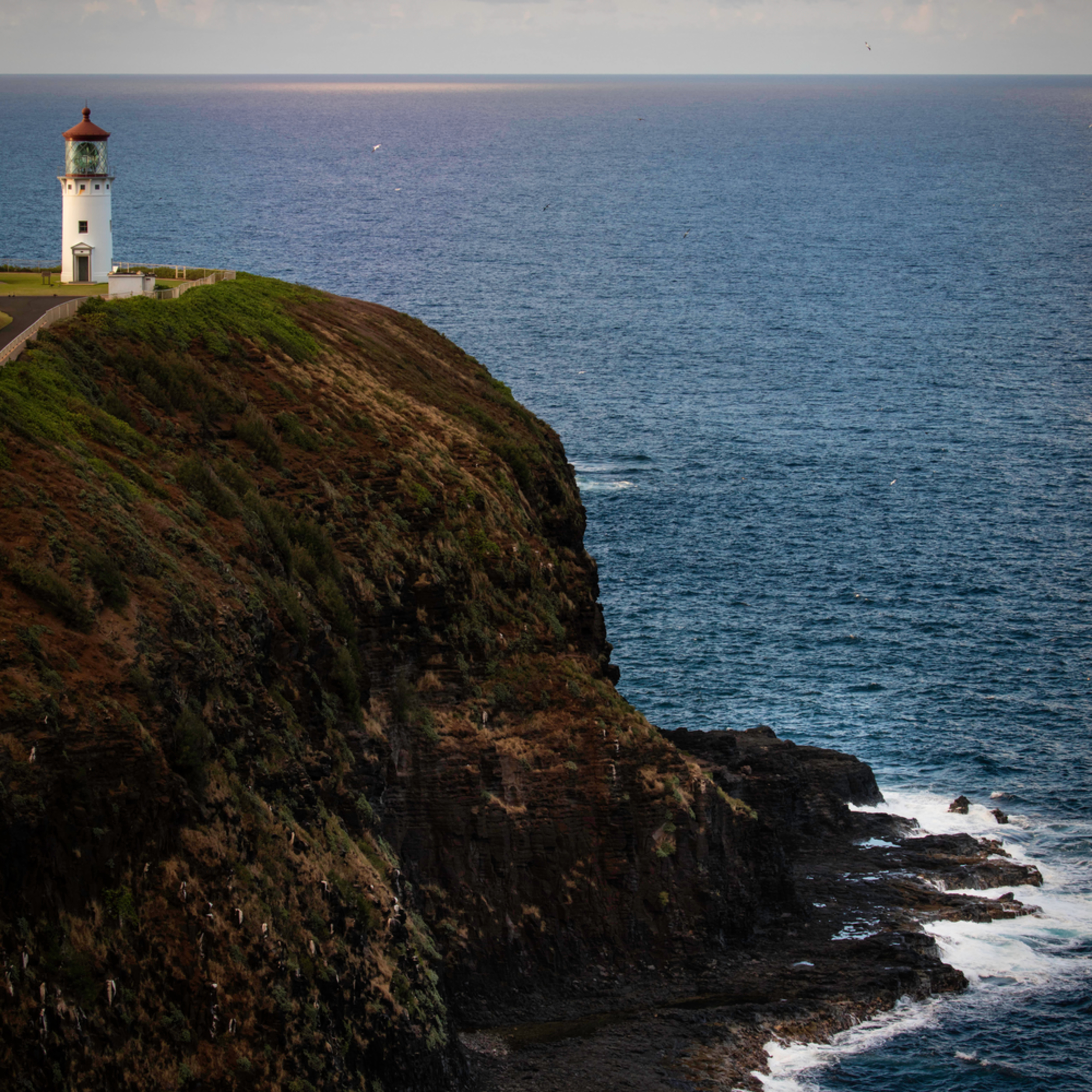 Forty Mile Point Lighthouse 8x12 Print Metallic Paper