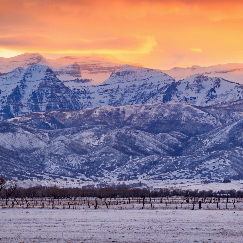 Winter timp sunset panorama terxrv