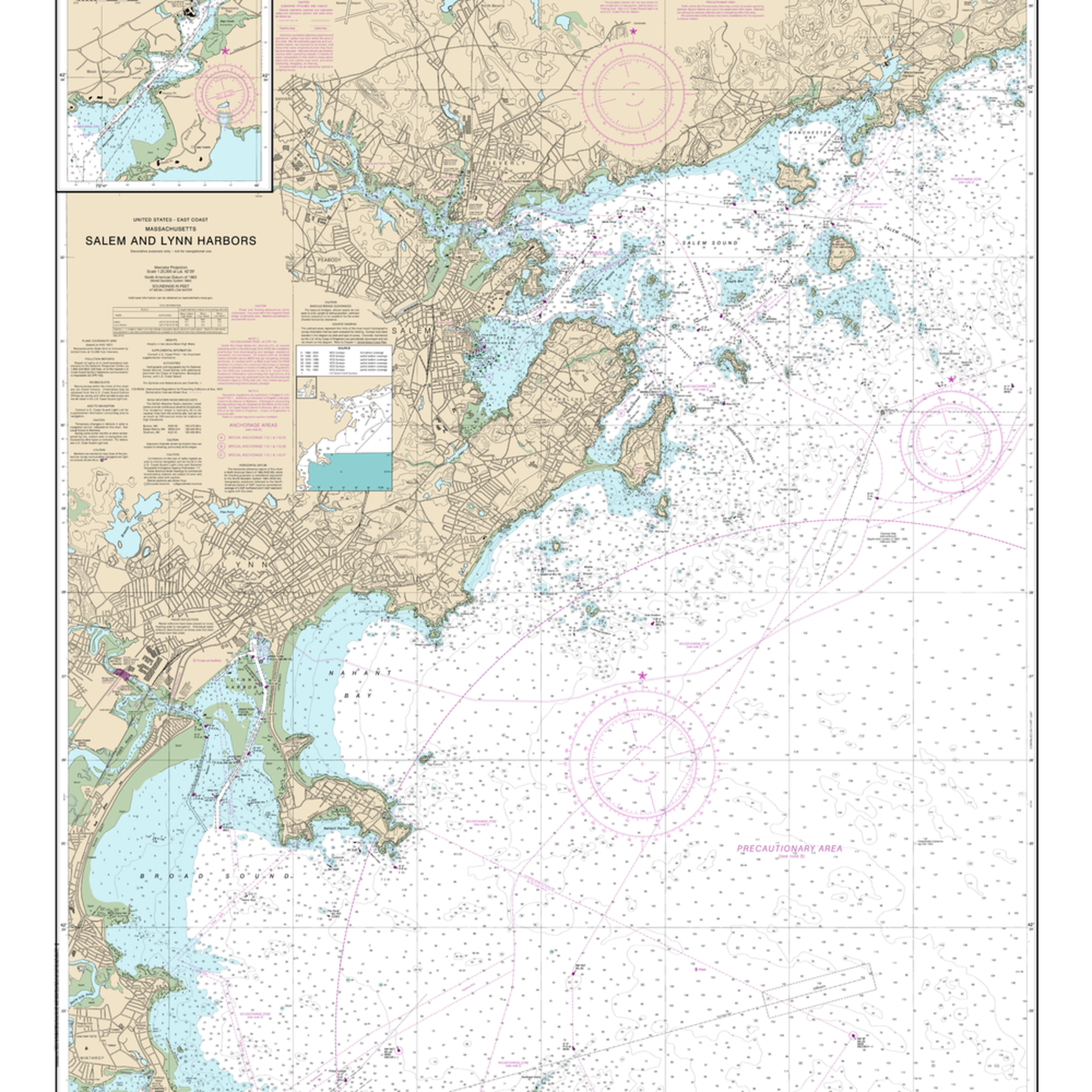 Nauticalmap 13275 salem lynn manchester zj0n2v