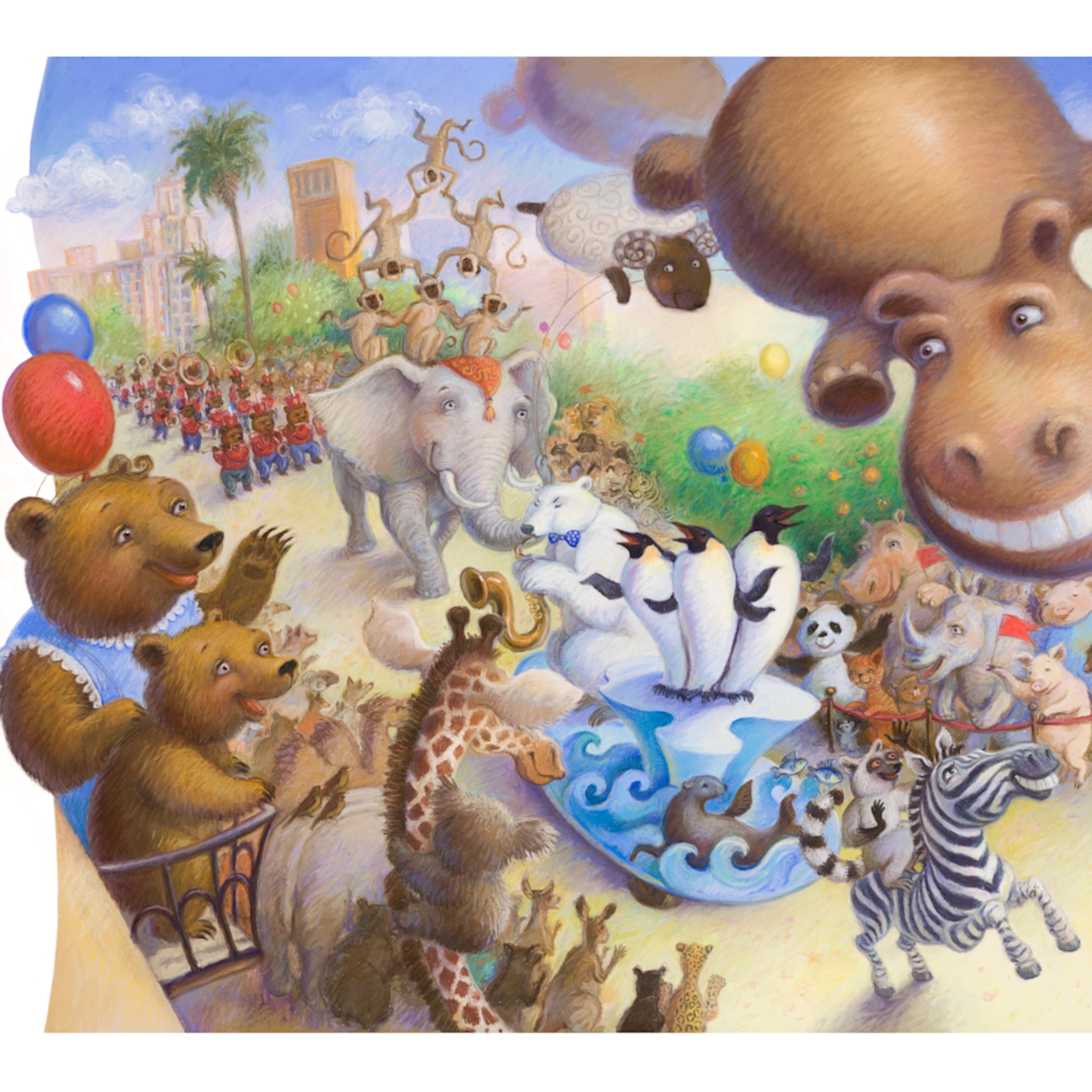 New animal parade lyuba bogan 23x19 crop qwlpcb