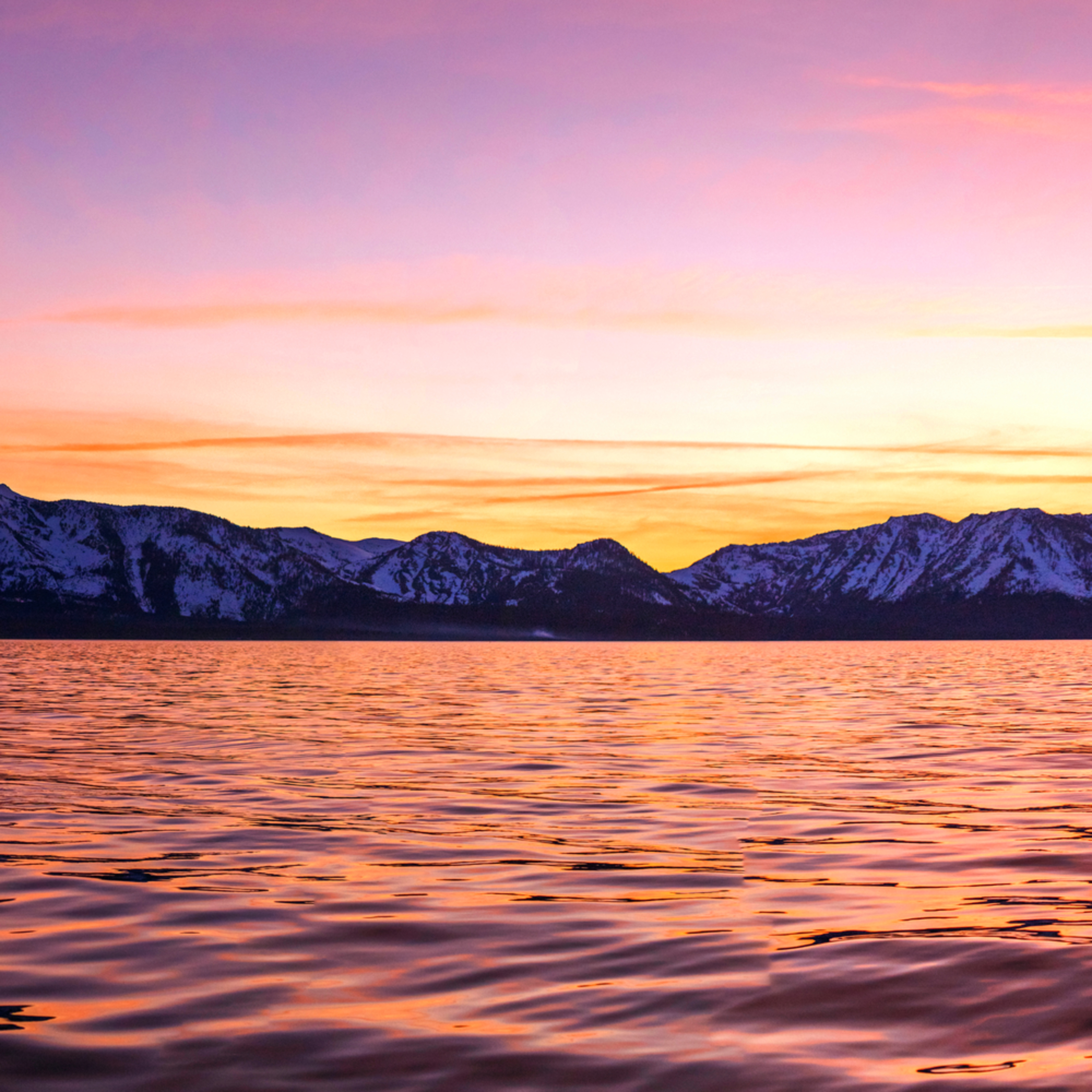 Boat sunset over tallac dxpoea