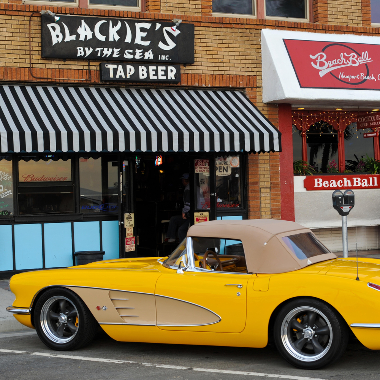 Vintage corvette newport beach blackies ca pietsp