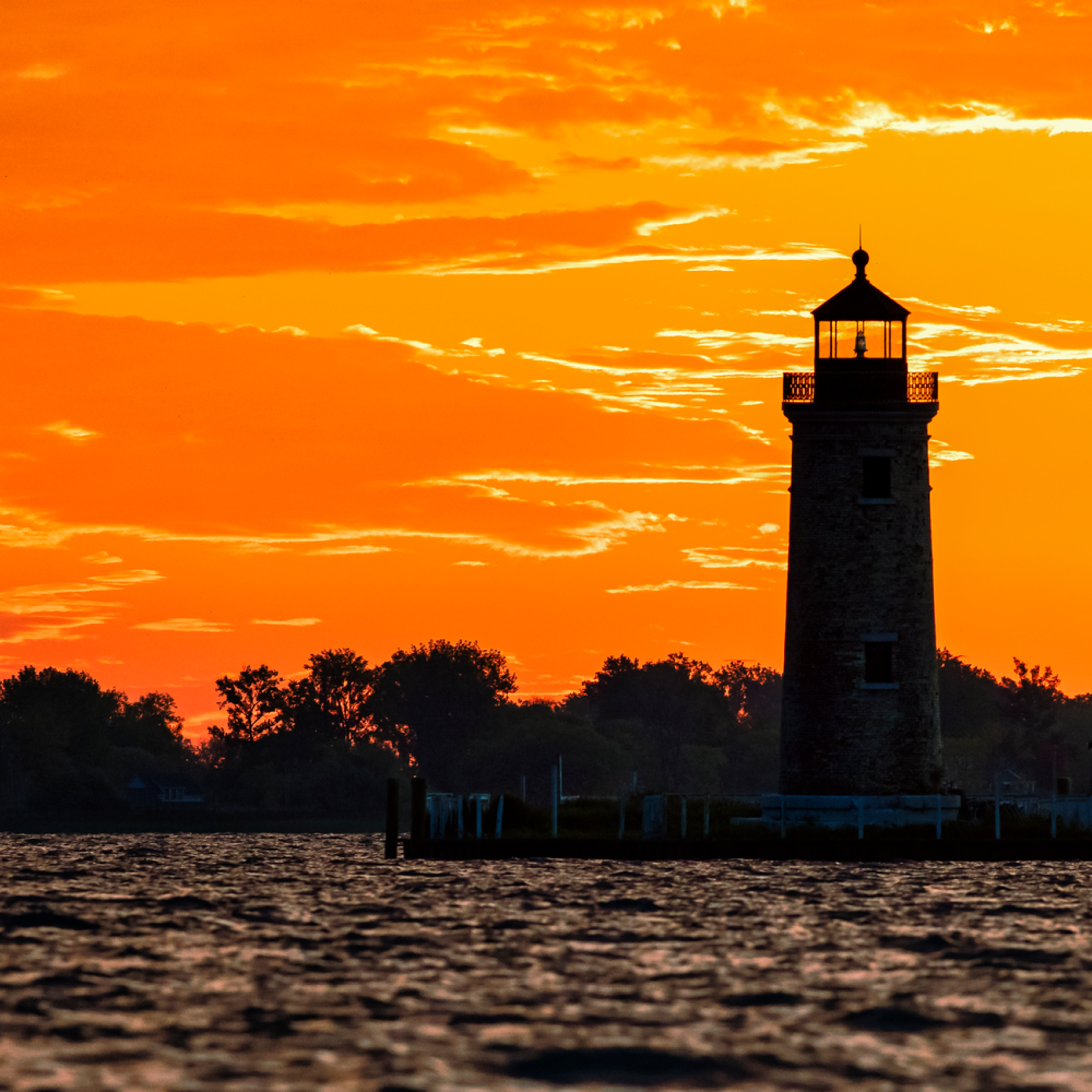 Andy crawford photography lake st clair river lighthouse pastel sunrise bslokj