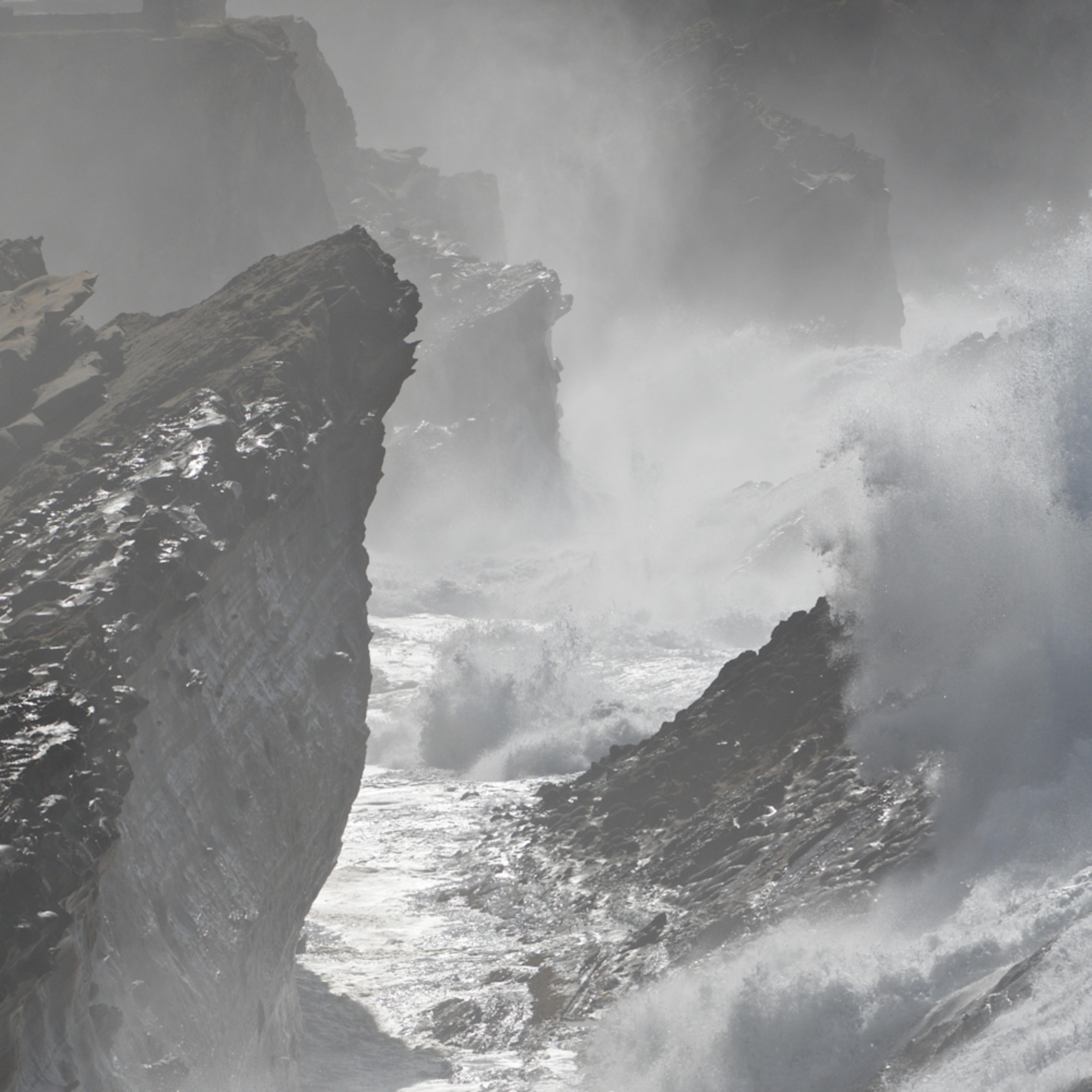 Shore acres large surf b w eudu0f