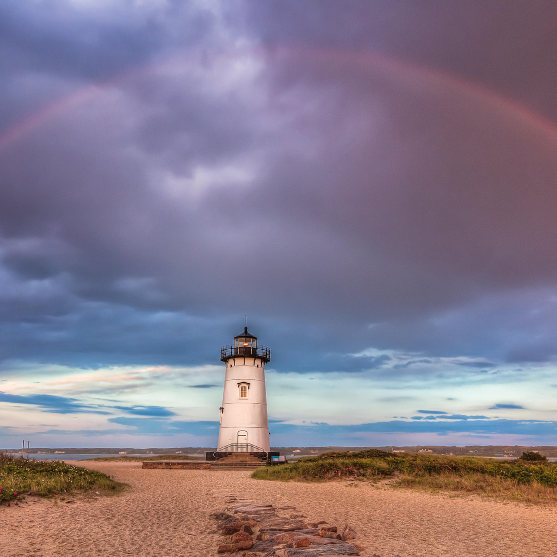 Edgartown light rainbow tishrc