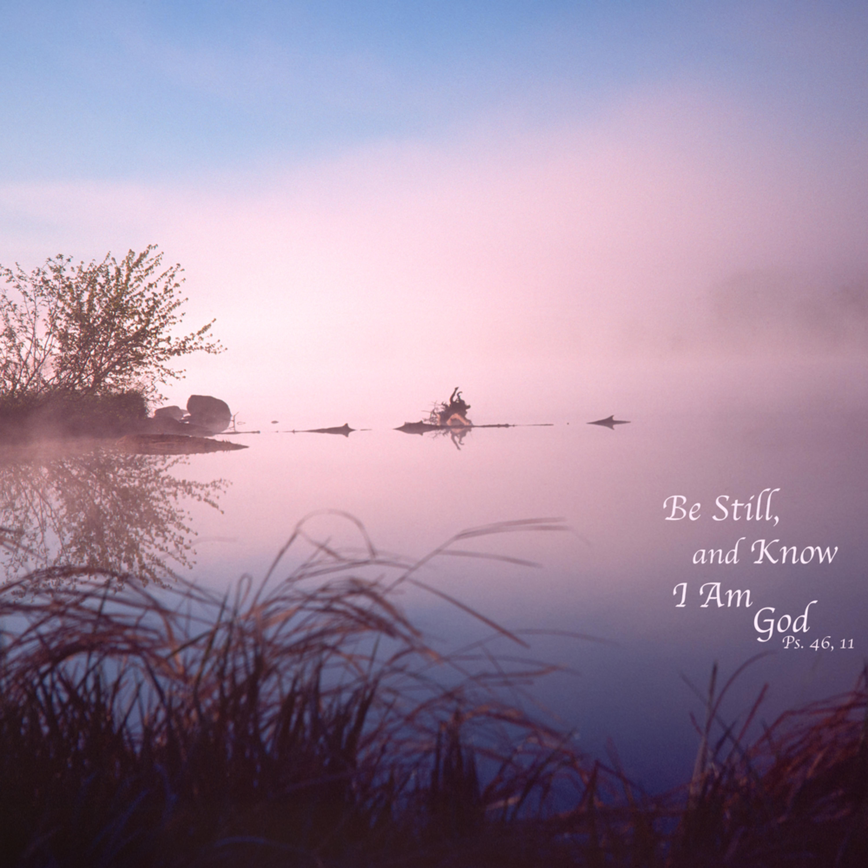 Chippewa river at dawn j205q 20  x6mufm