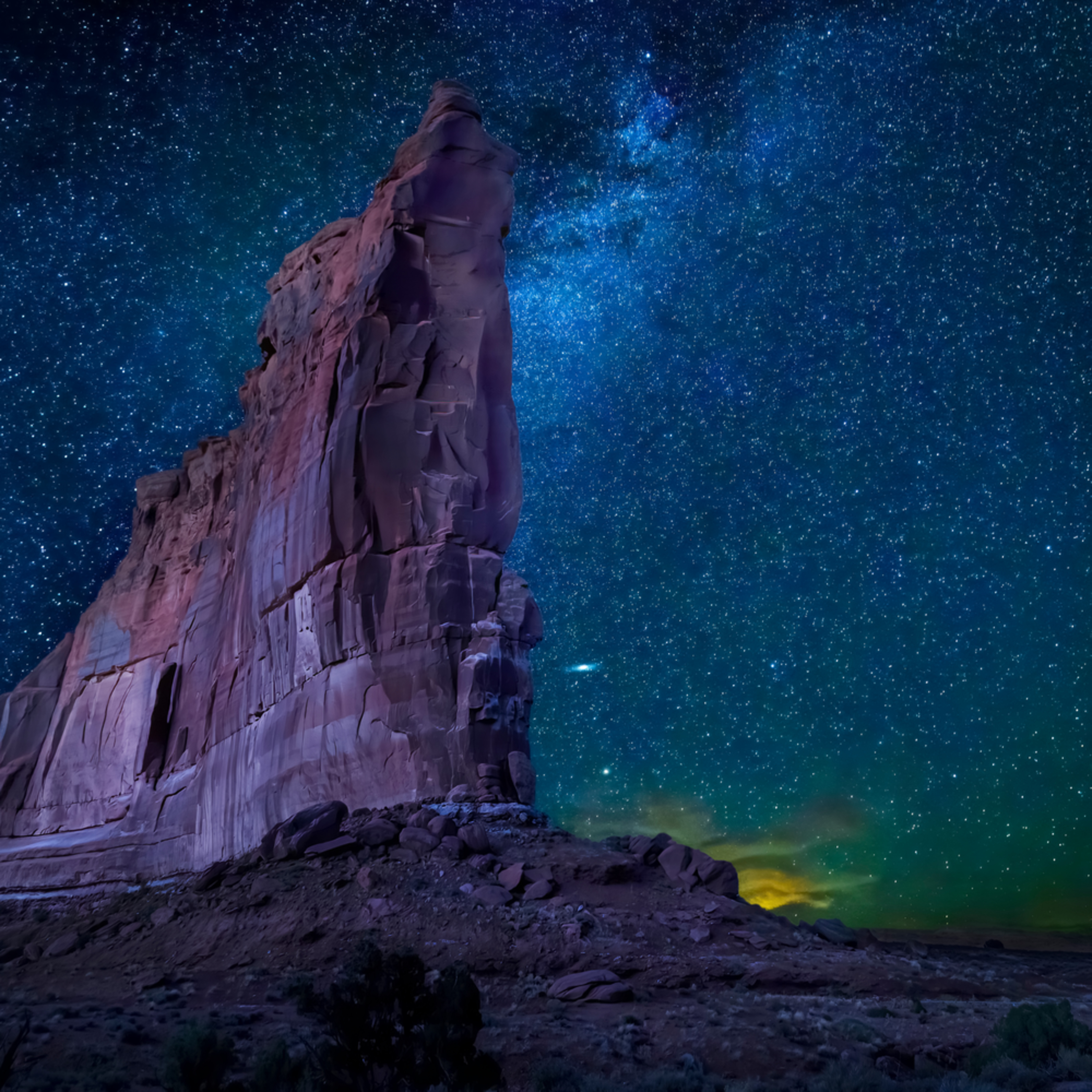 Tower of babel arches national park o7ourc