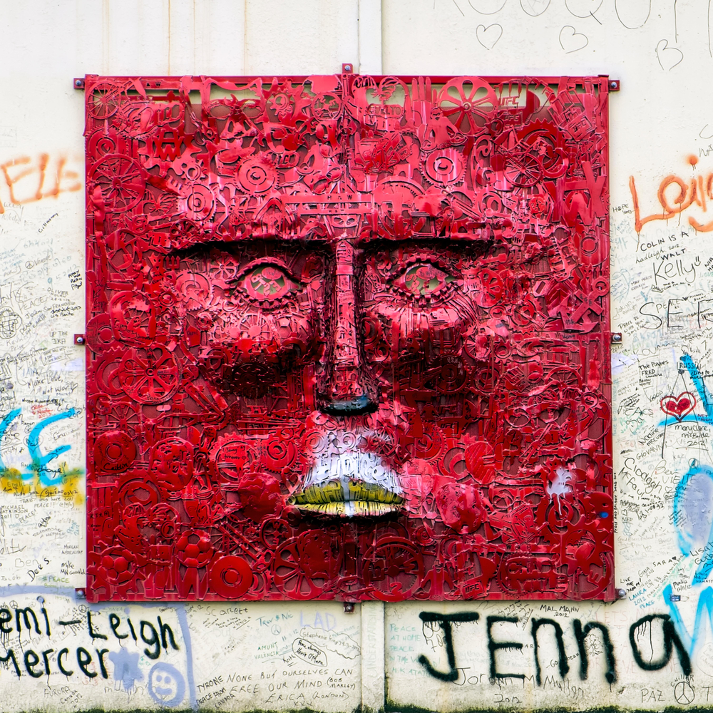Boblederman belfast wall photographycanvas 47.5 x 32.5 oc75el