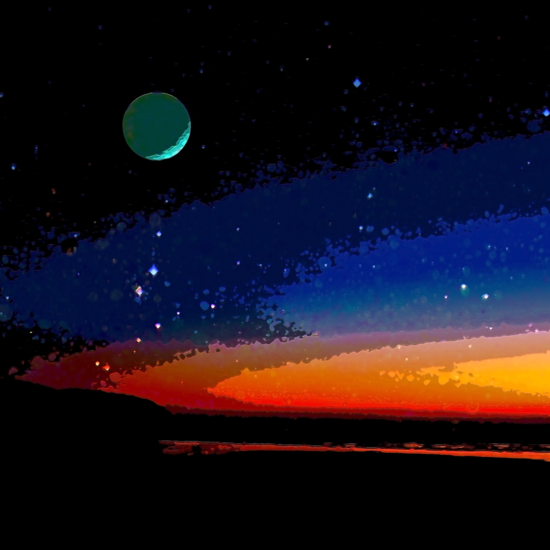 Sunset planet wymf2v