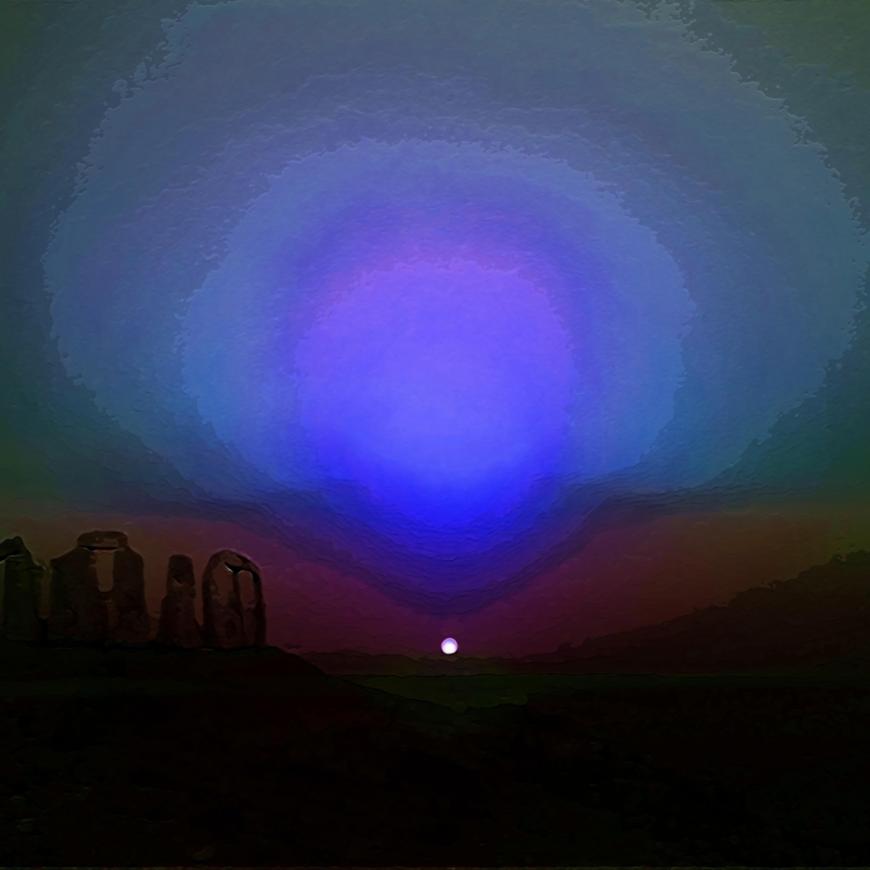 Martian sunset uuvtbj