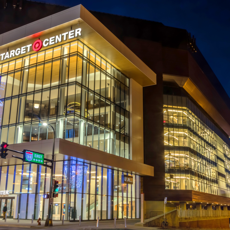 Target center and prince ku9br1