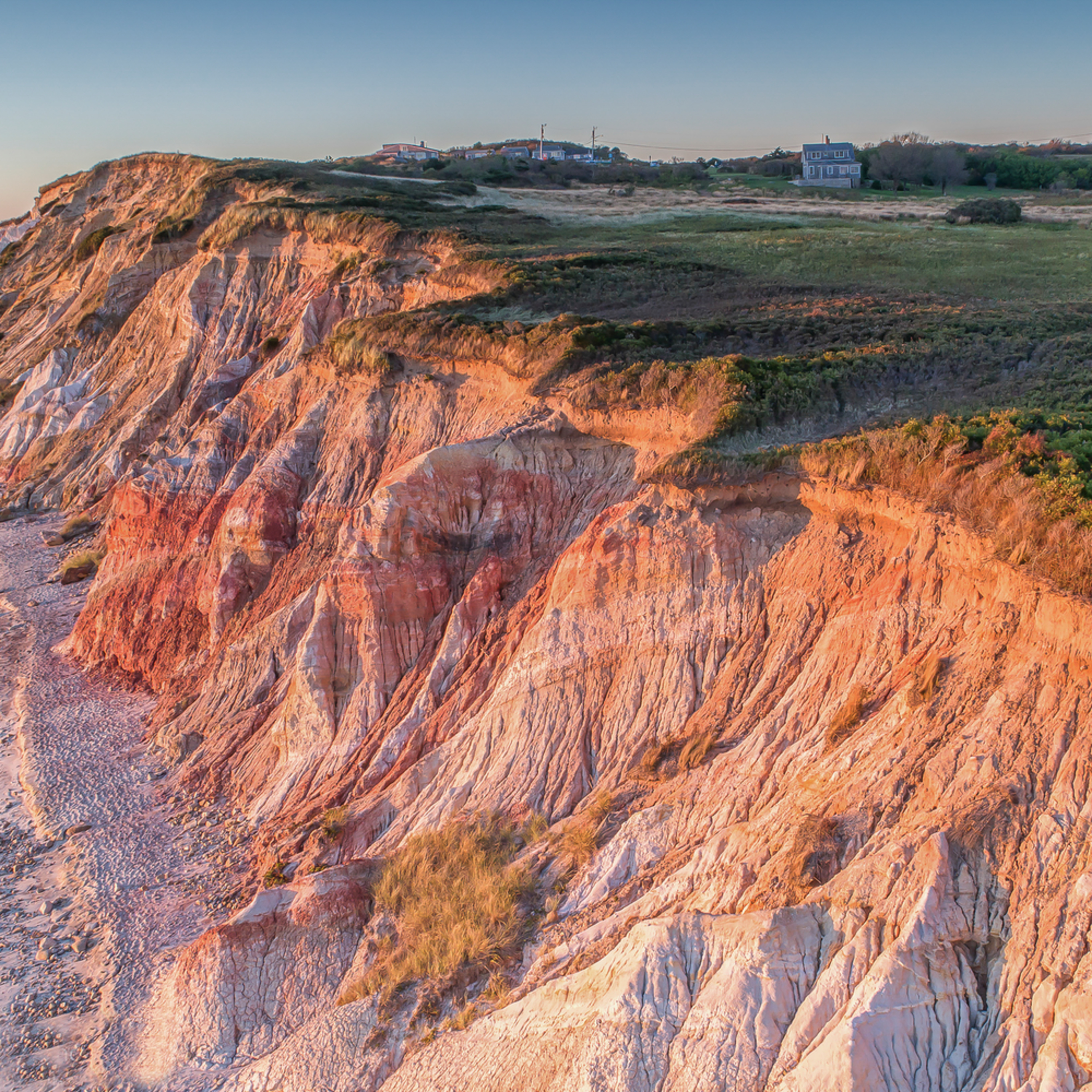 Gay head cliffs from above cao2df