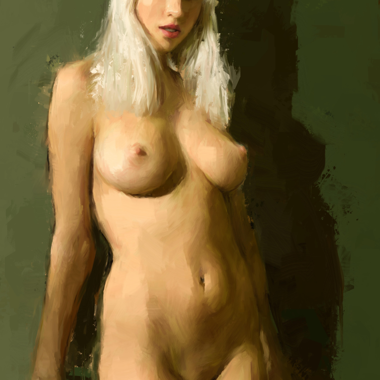 Blonde and bare gfjbnh