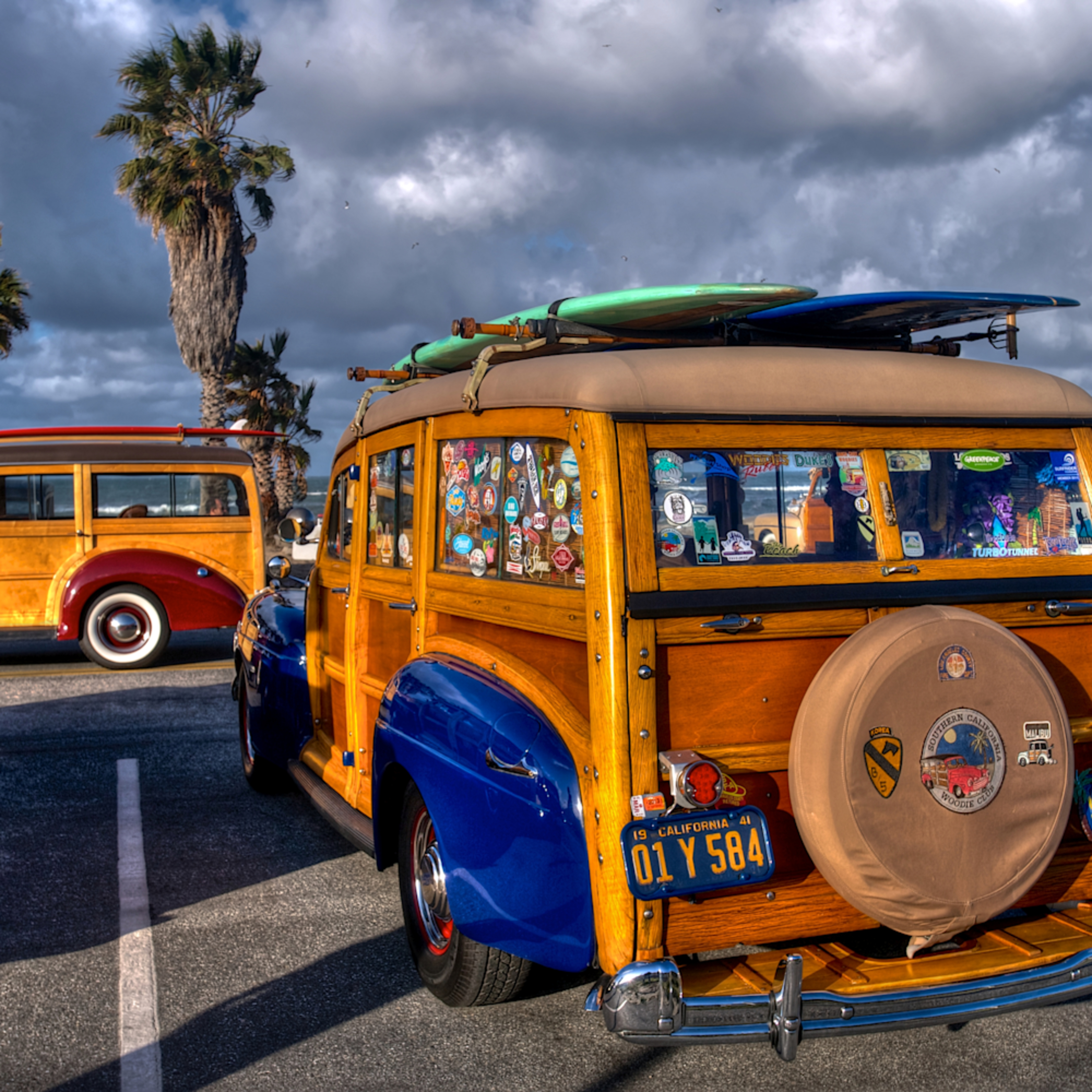 Classic woodies doheny beach ca spal1g