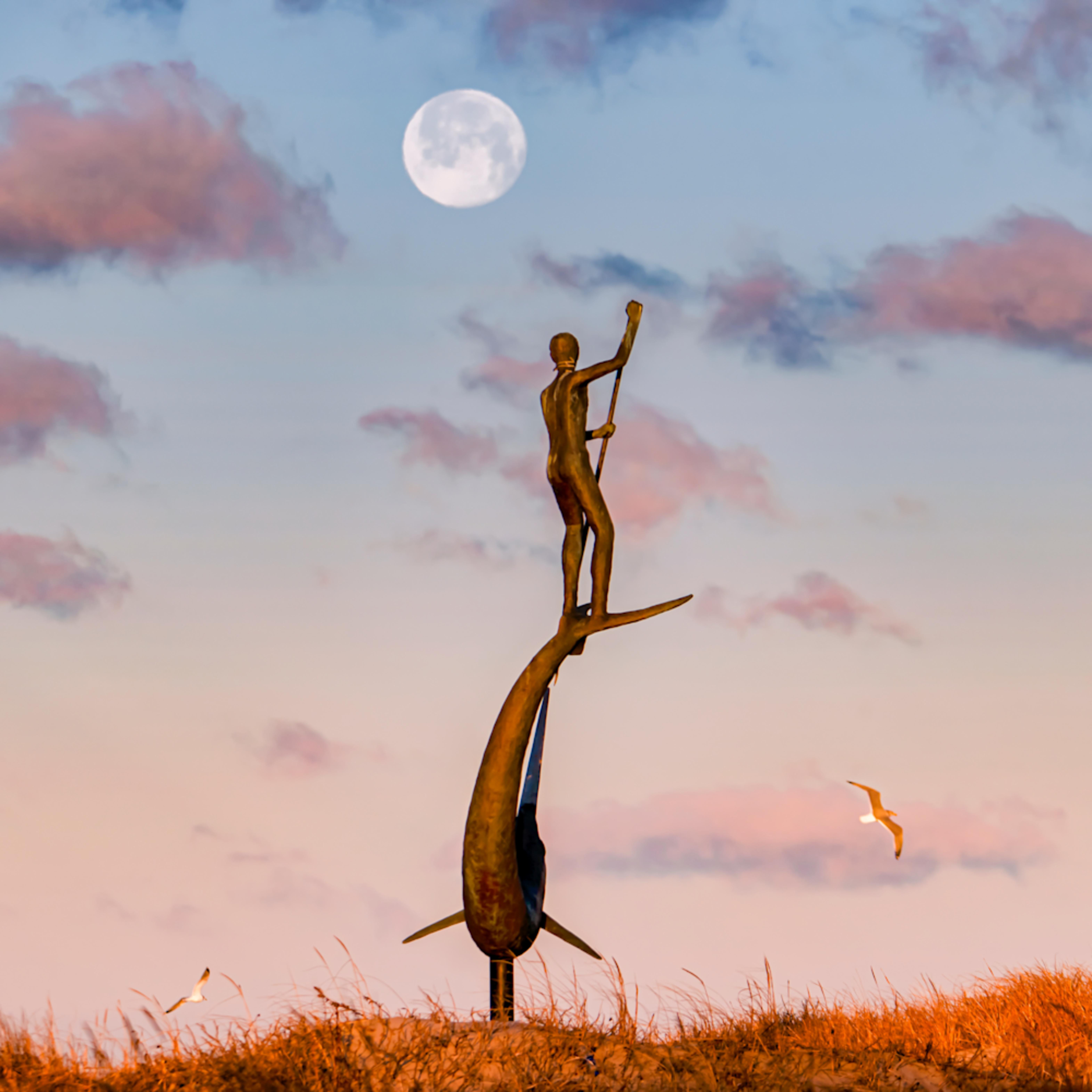 Menemsha sword fisherman moon gxhhbl