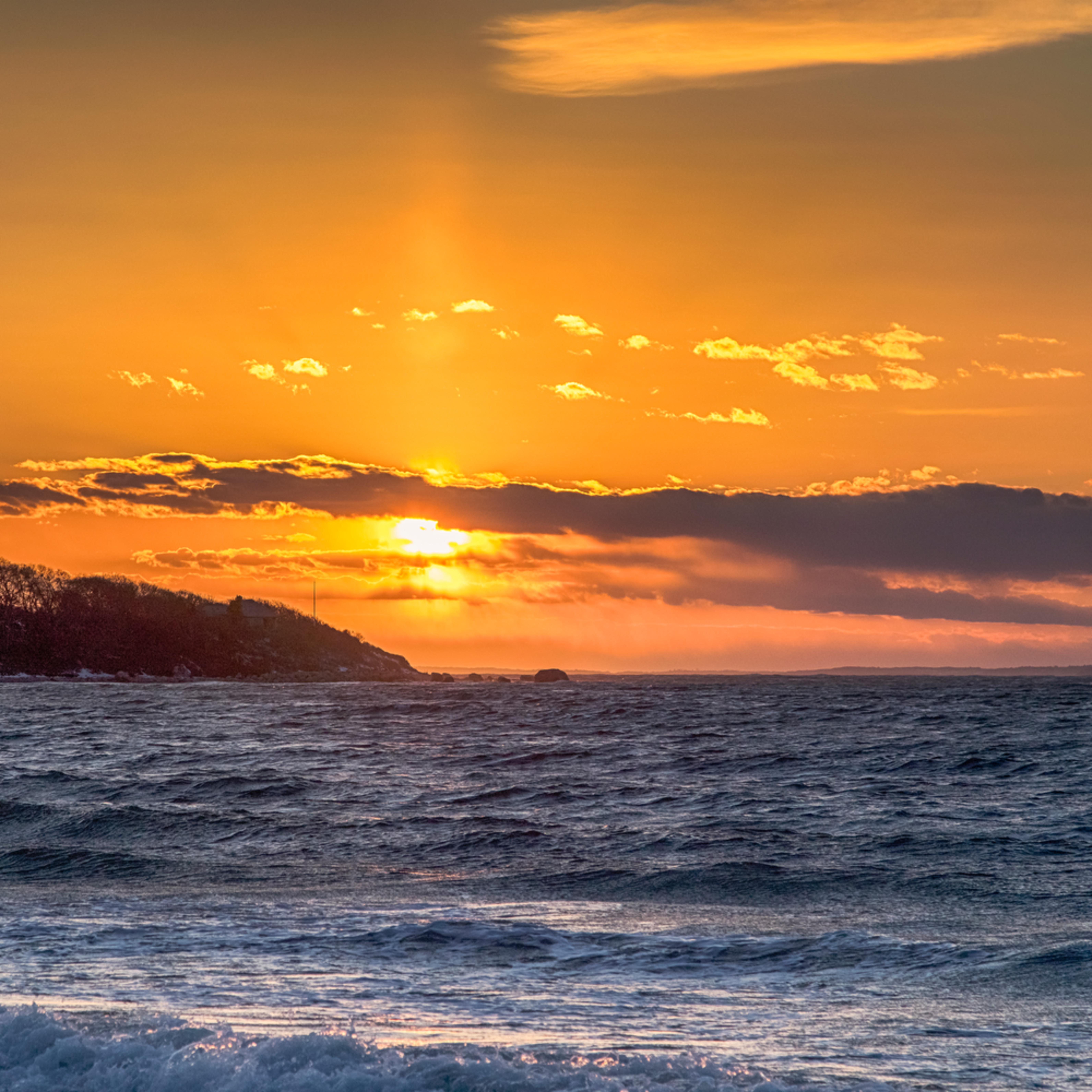 Lambert s cove winter sunset a4eduw