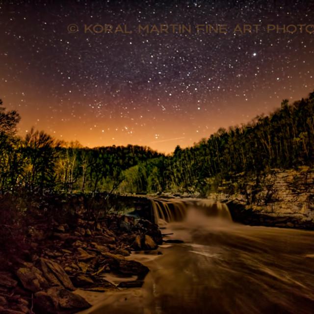 Cumberland falls night 8382 koral martin qzxcds