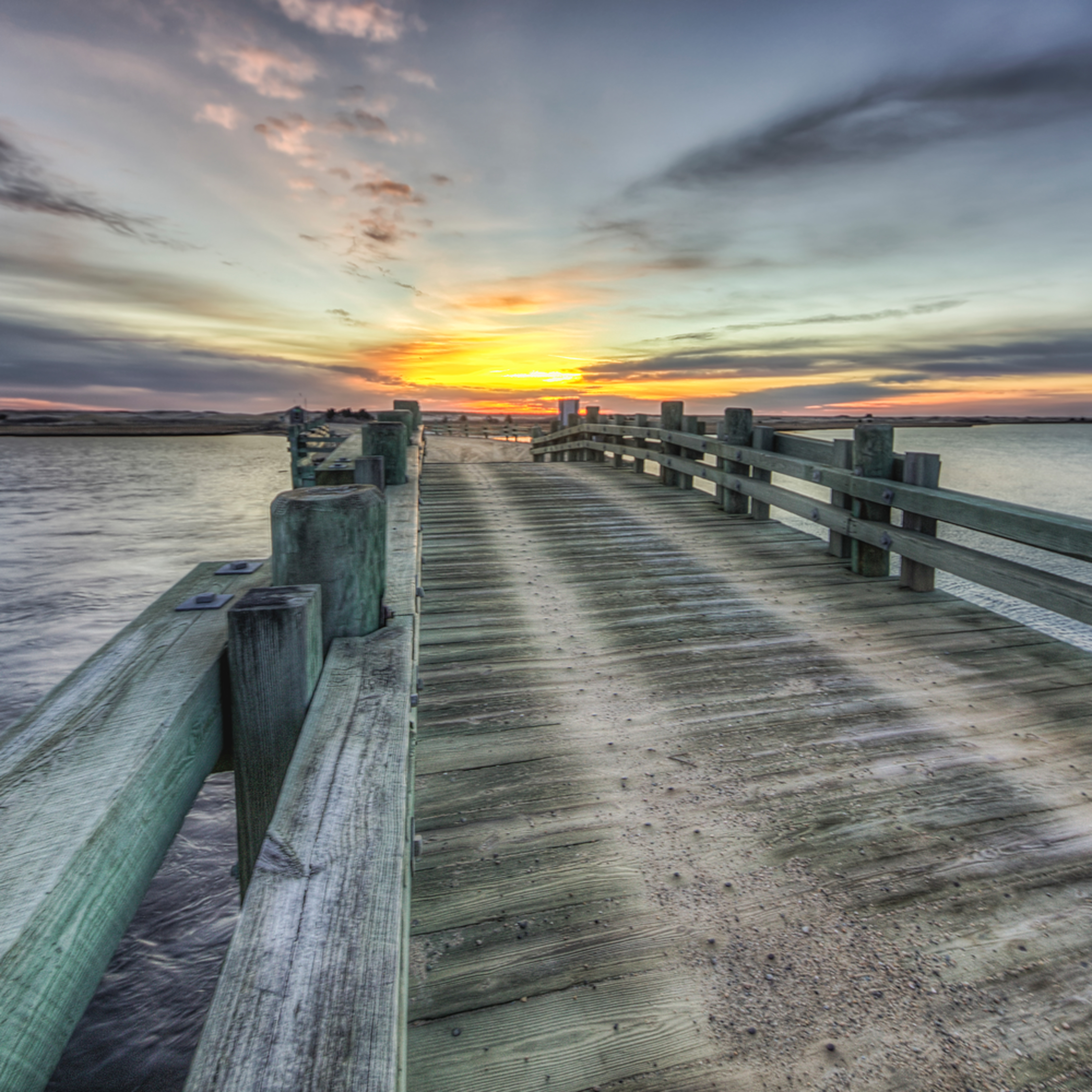 Dyke bridge sunrise sqbg2l